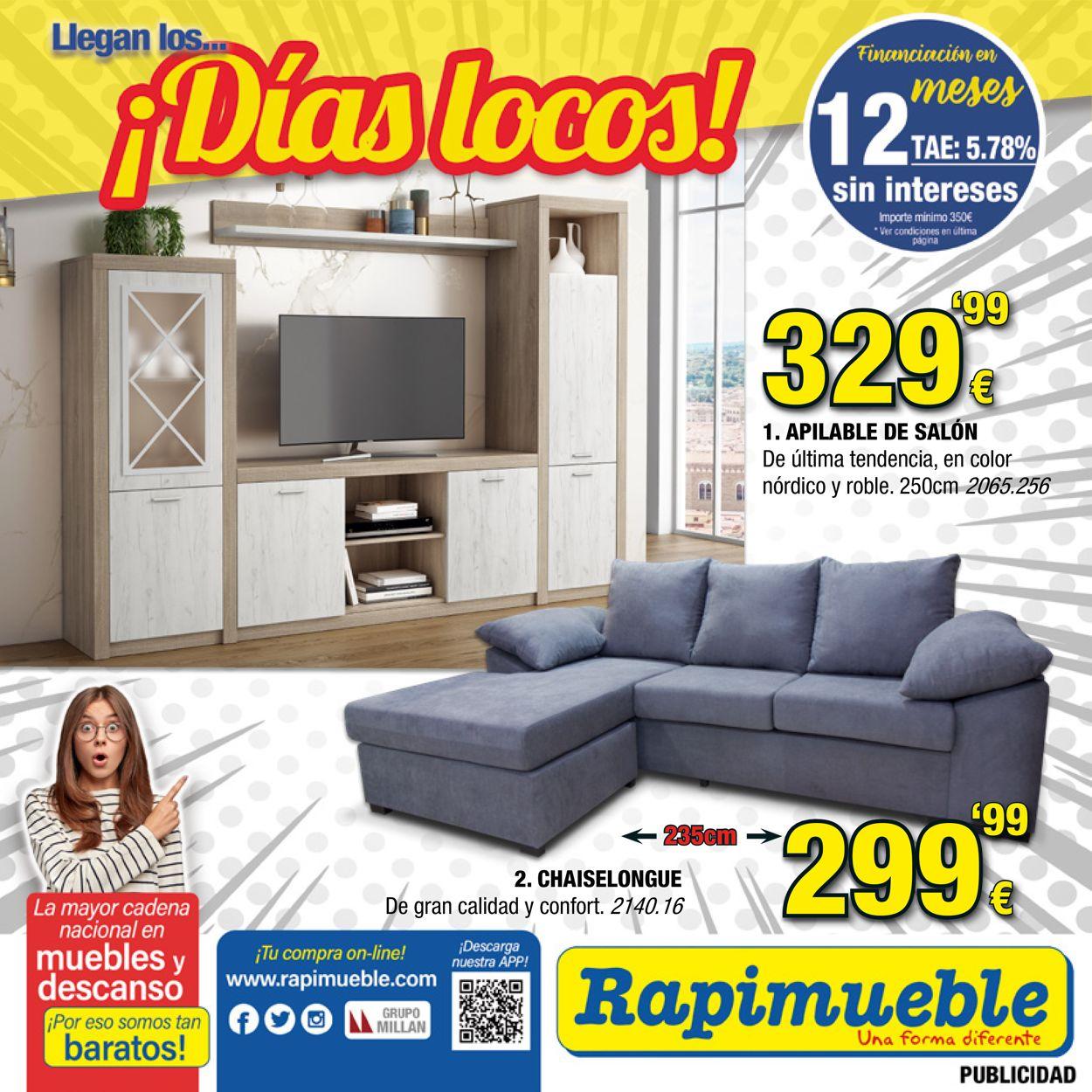 Rapimueble Folleto - 01.08-30.09.2021