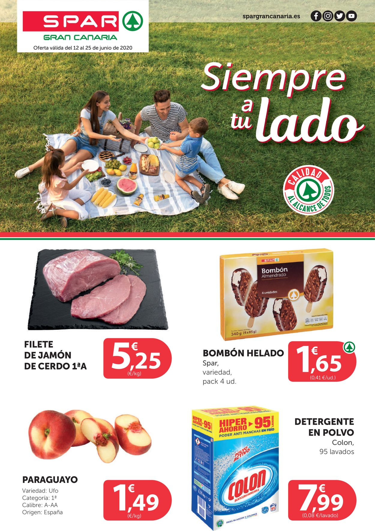 SPAR Folleto - 12.06-25.06.2020