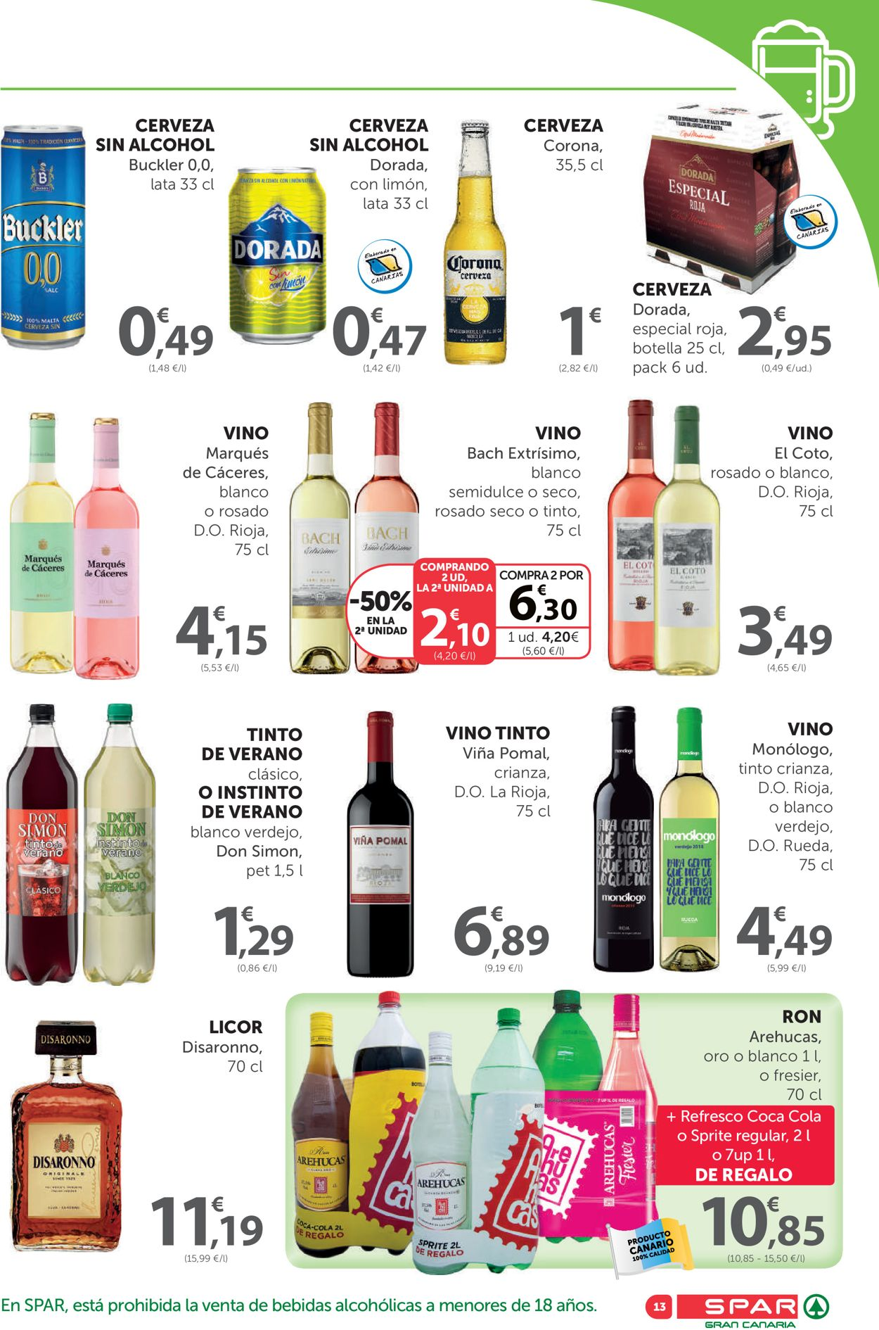 SPAR Folleto - 24.07-06.08.2020 (Página 13)