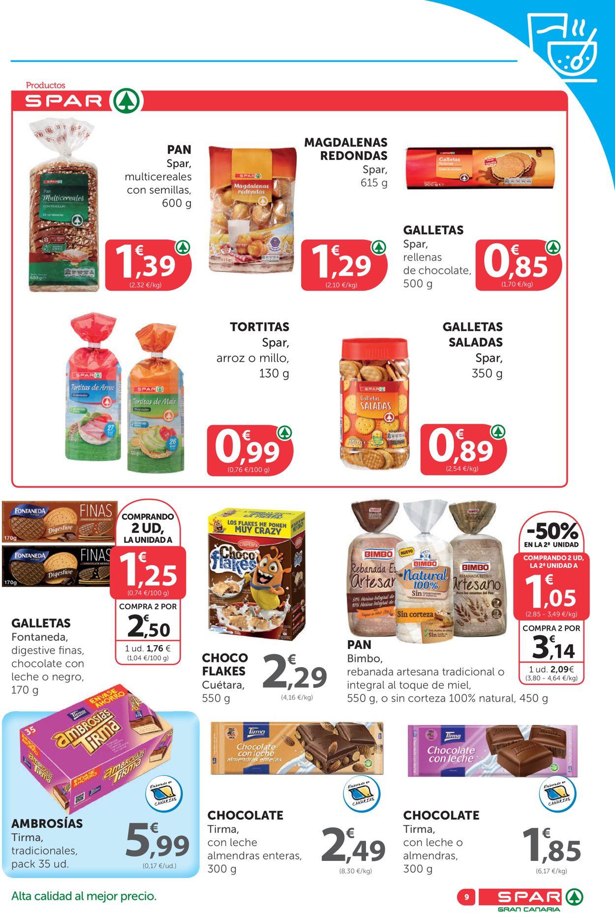 SPAR Folleto - 21.08-09.09.2020 (Página 9)