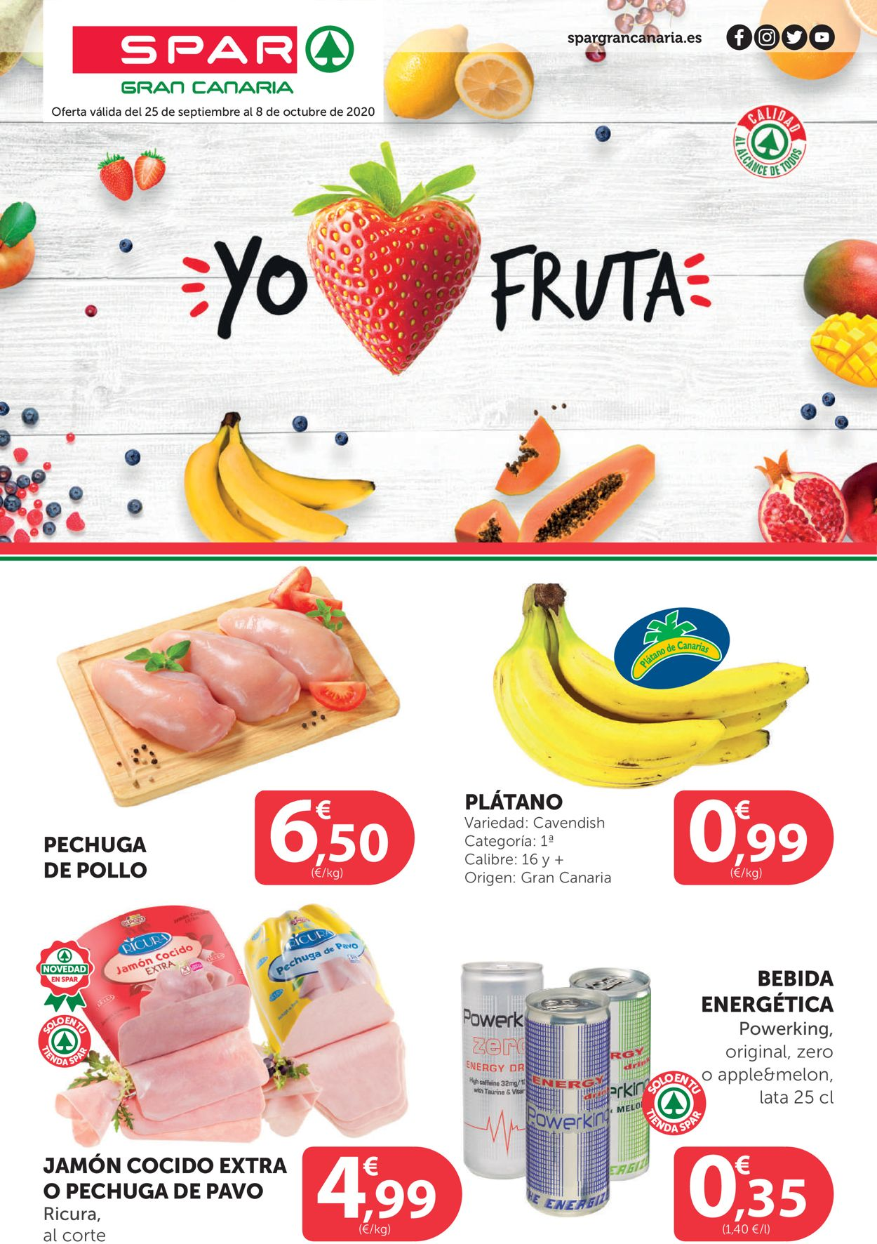 SPAR Folleto - 25.09-08.10.2020