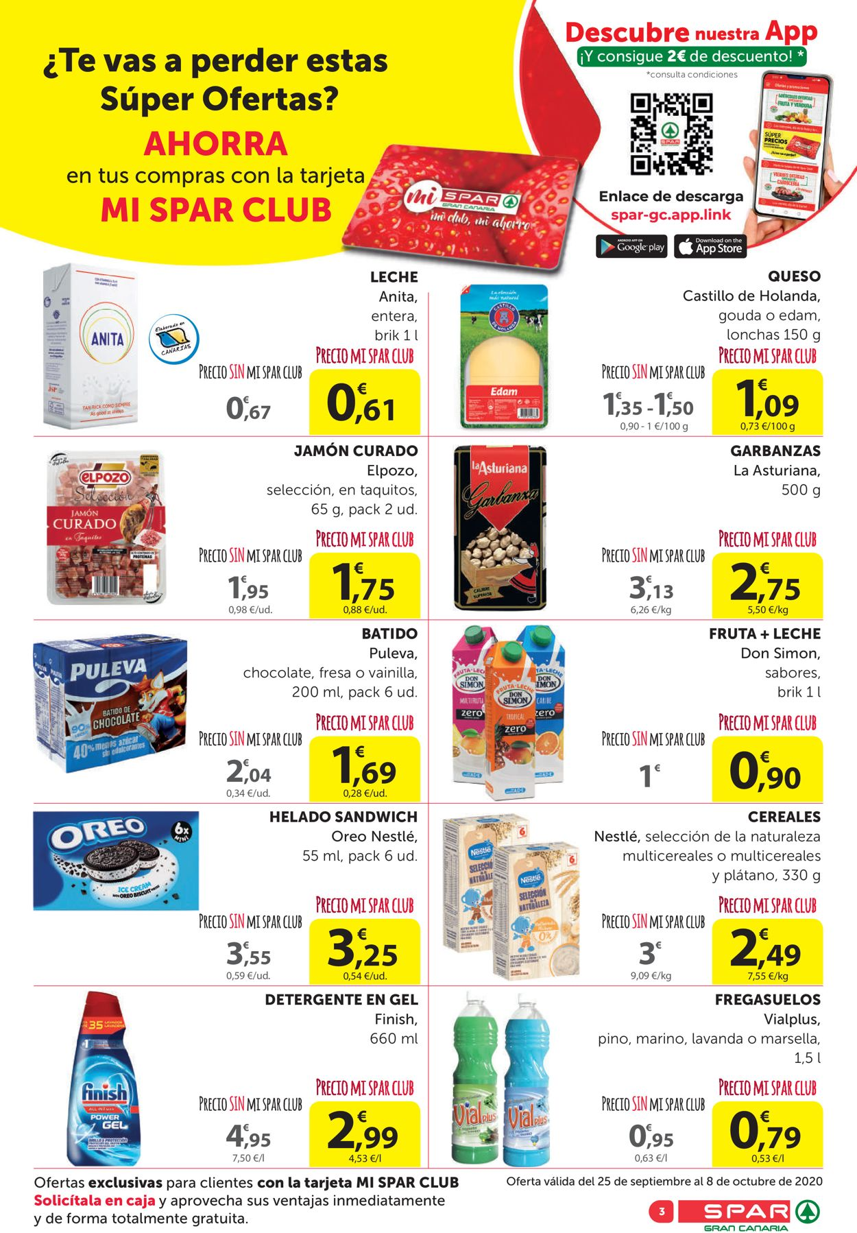 SPAR Folleto - 25.09-08.10.2020 (Página 3)