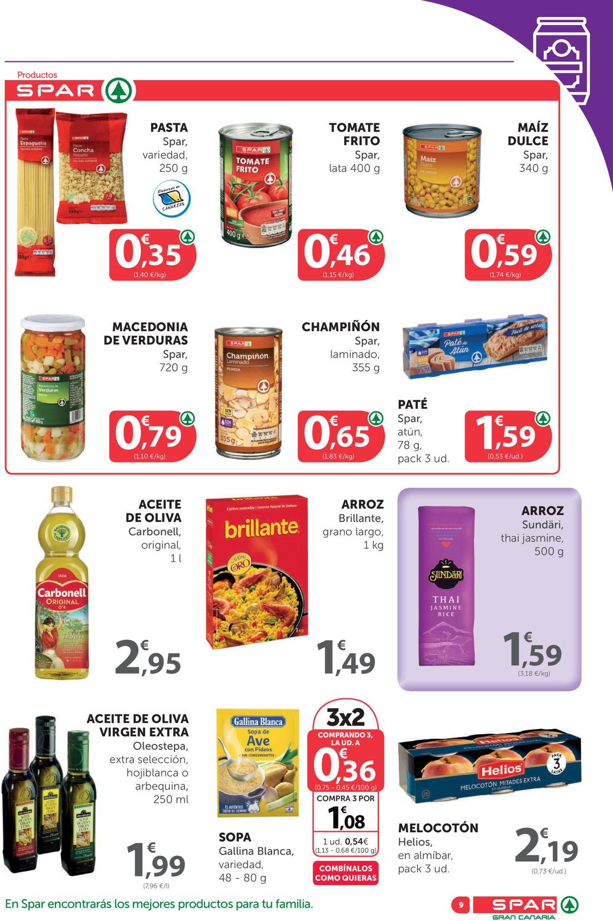 SPAR Folleto - 25.09-08.10.2020 (Página 9)