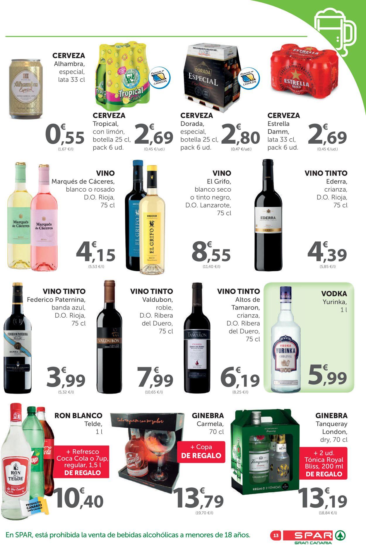 SPAR Folleto - 25.09-08.10.2020 (Página 13)