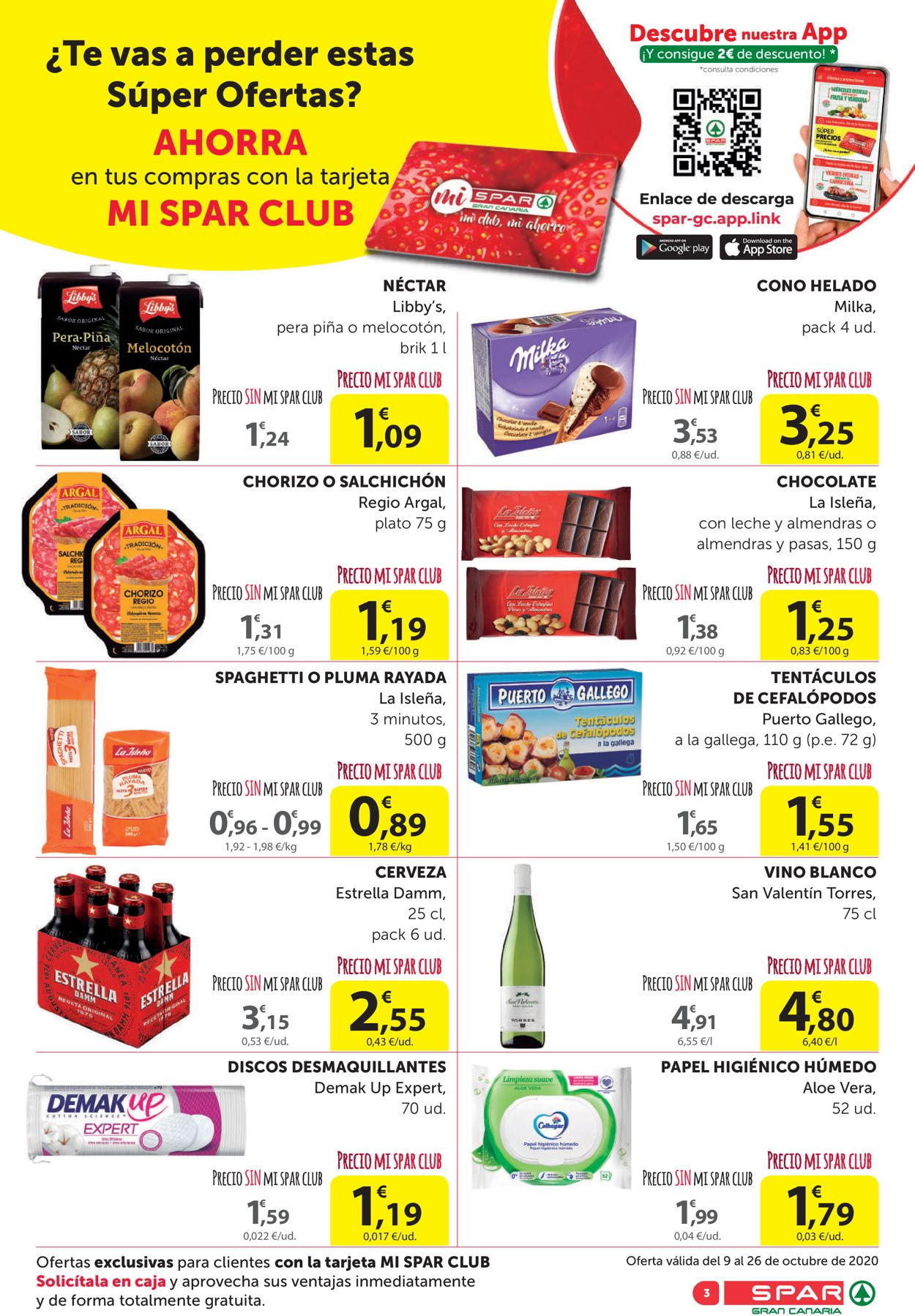SPAR Folleto - 09.10-26.10.2020 (Página 3)