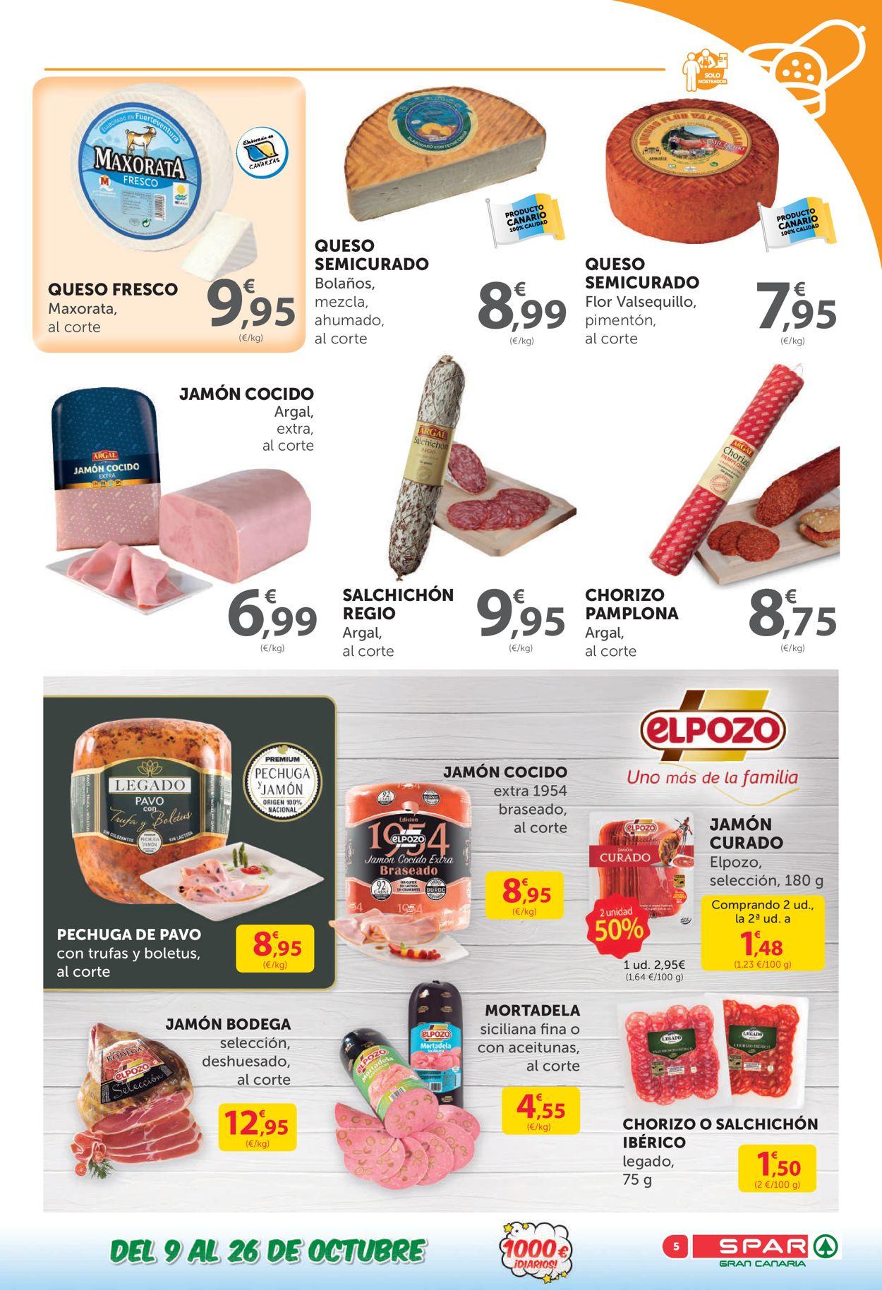 SPAR Folleto - 09.10-26.10.2020 (Página 5)