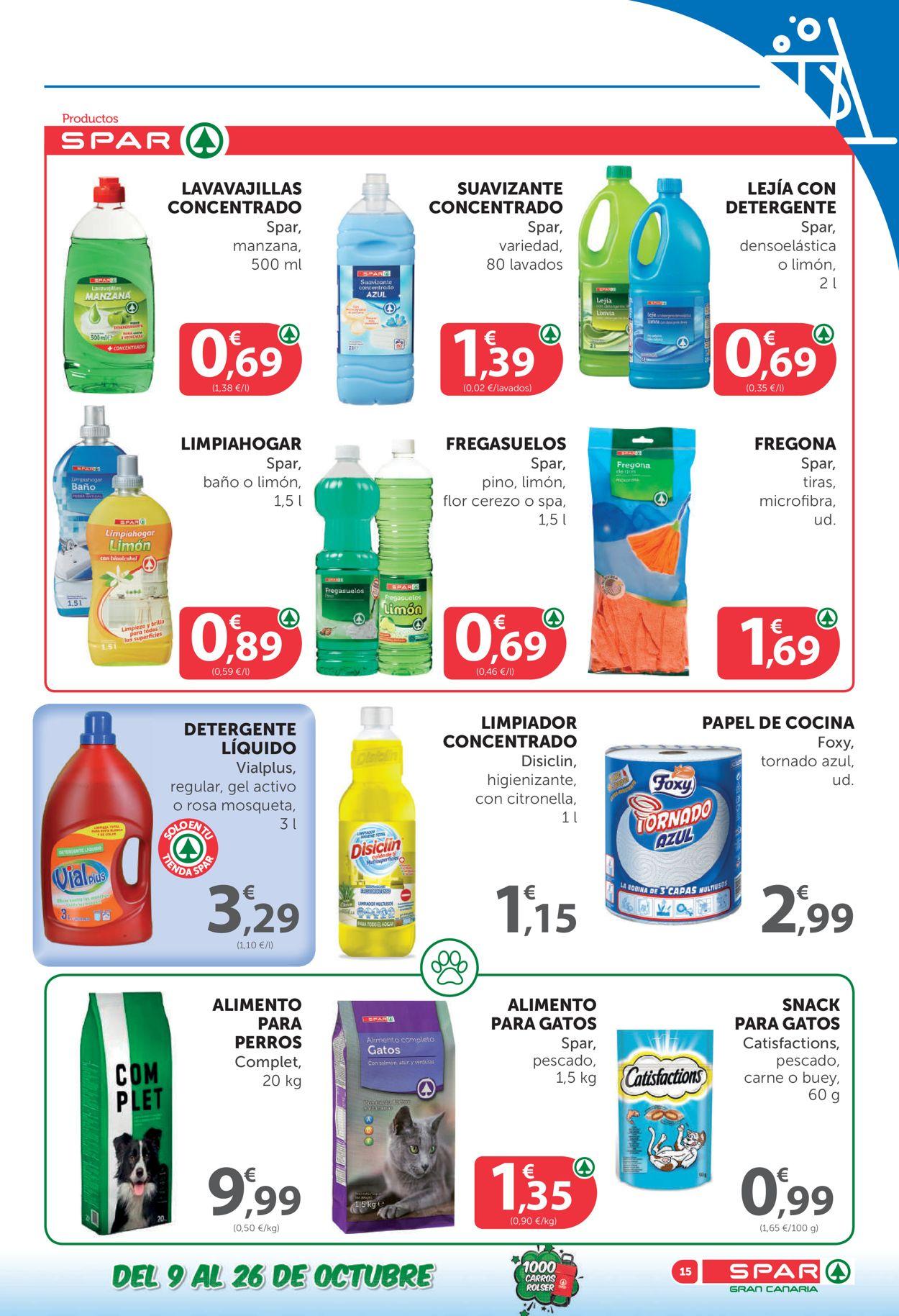 SPAR Folleto - 09.10-26.10.2020 (Página 15)