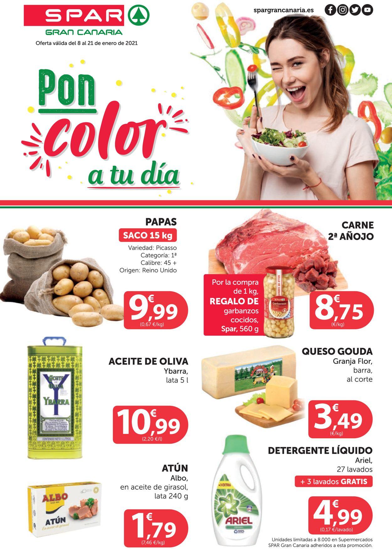 SPAR Folleto - 08.01-21.01.2021