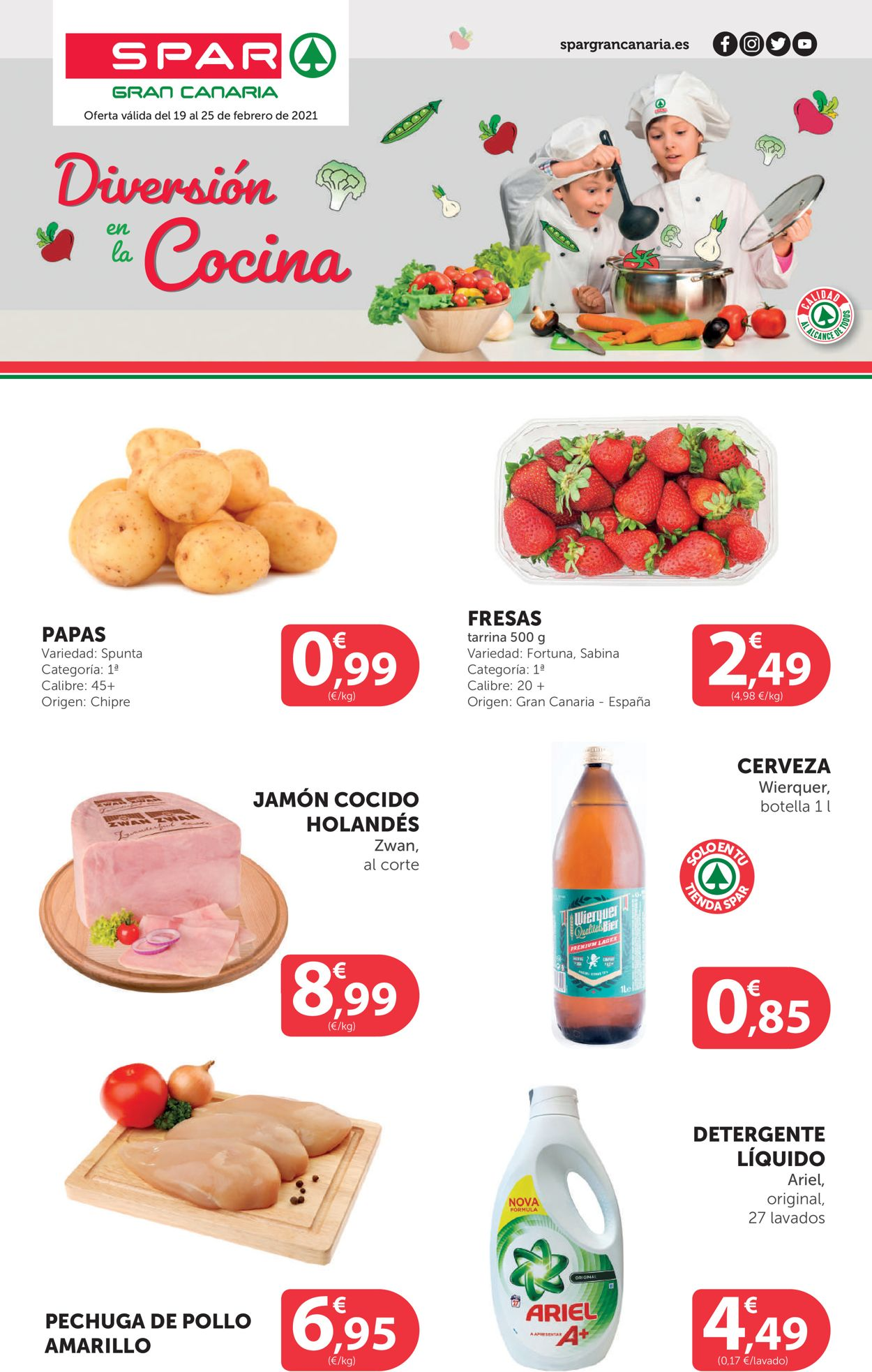 SPAR Folleto - 19.02-25.02.2021