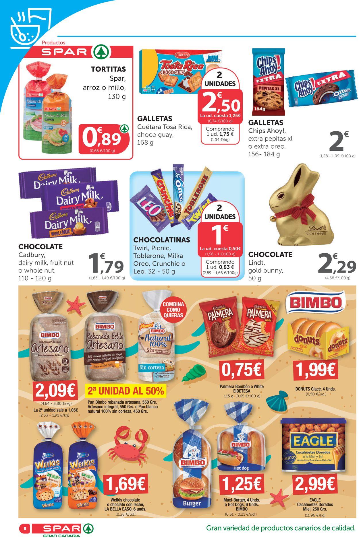 SPAR Folleto - 26.03-08.04.2021 (Página 8)