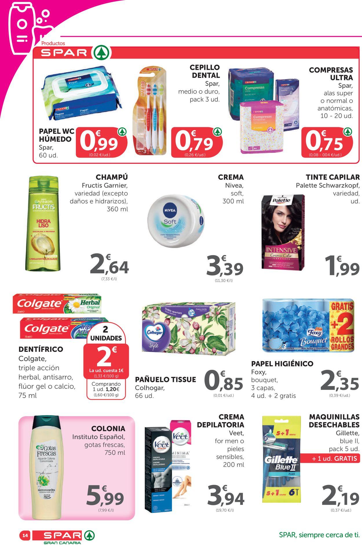 SPAR Folleto - 26.03-08.04.2021 (Página 14)