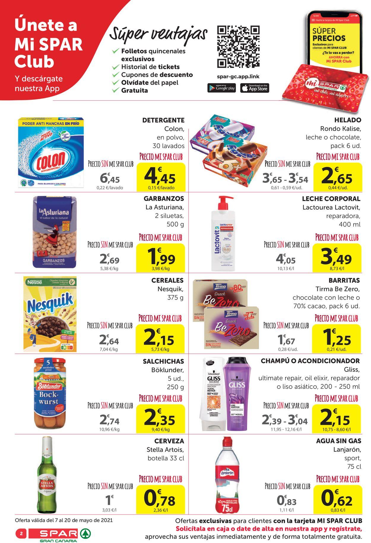 SPAR Folleto - 07.05-20.05.2021 (Página 2)