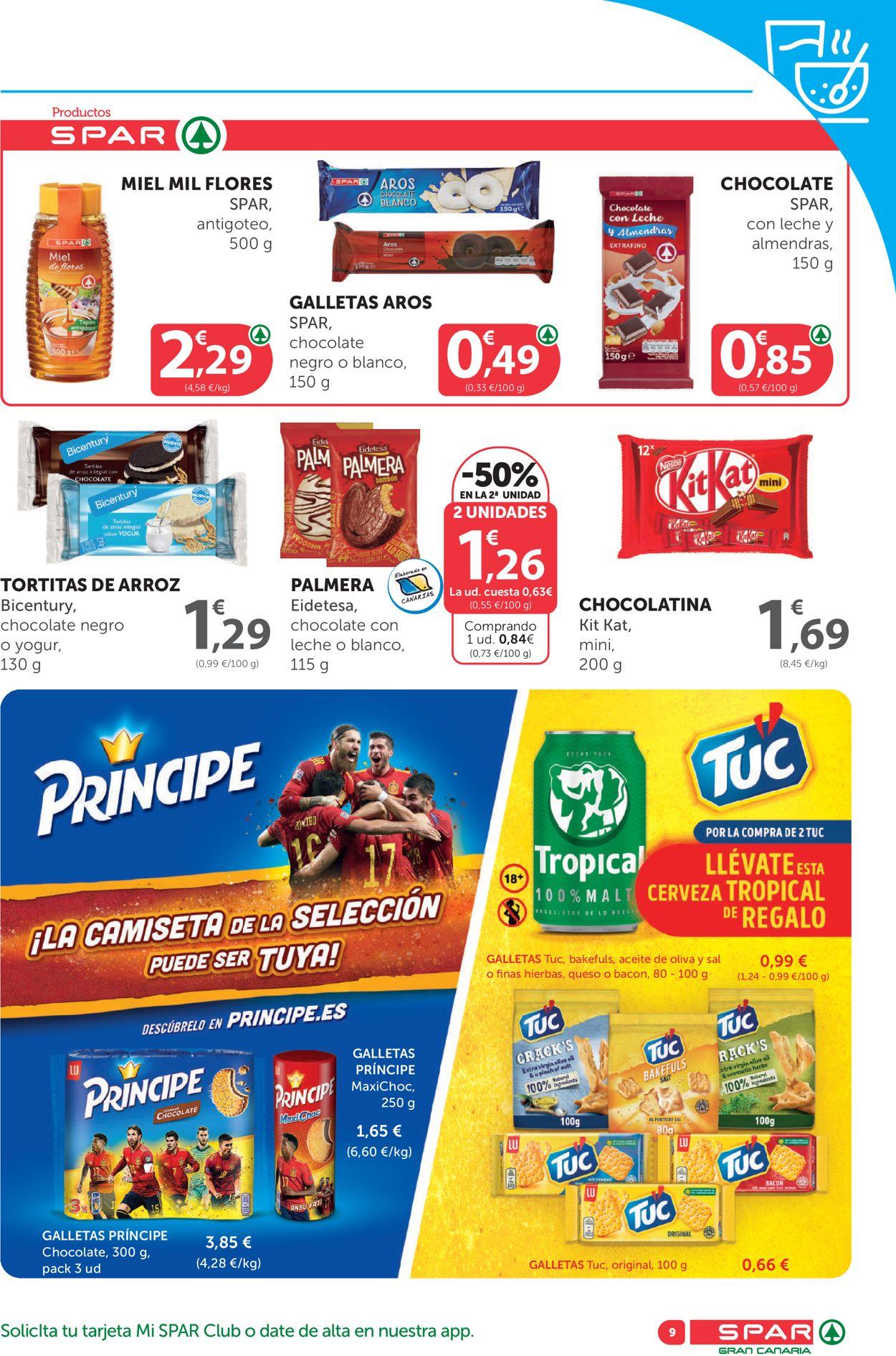 SPAR Folleto - 18.06-01.07.2021 (Página 9)