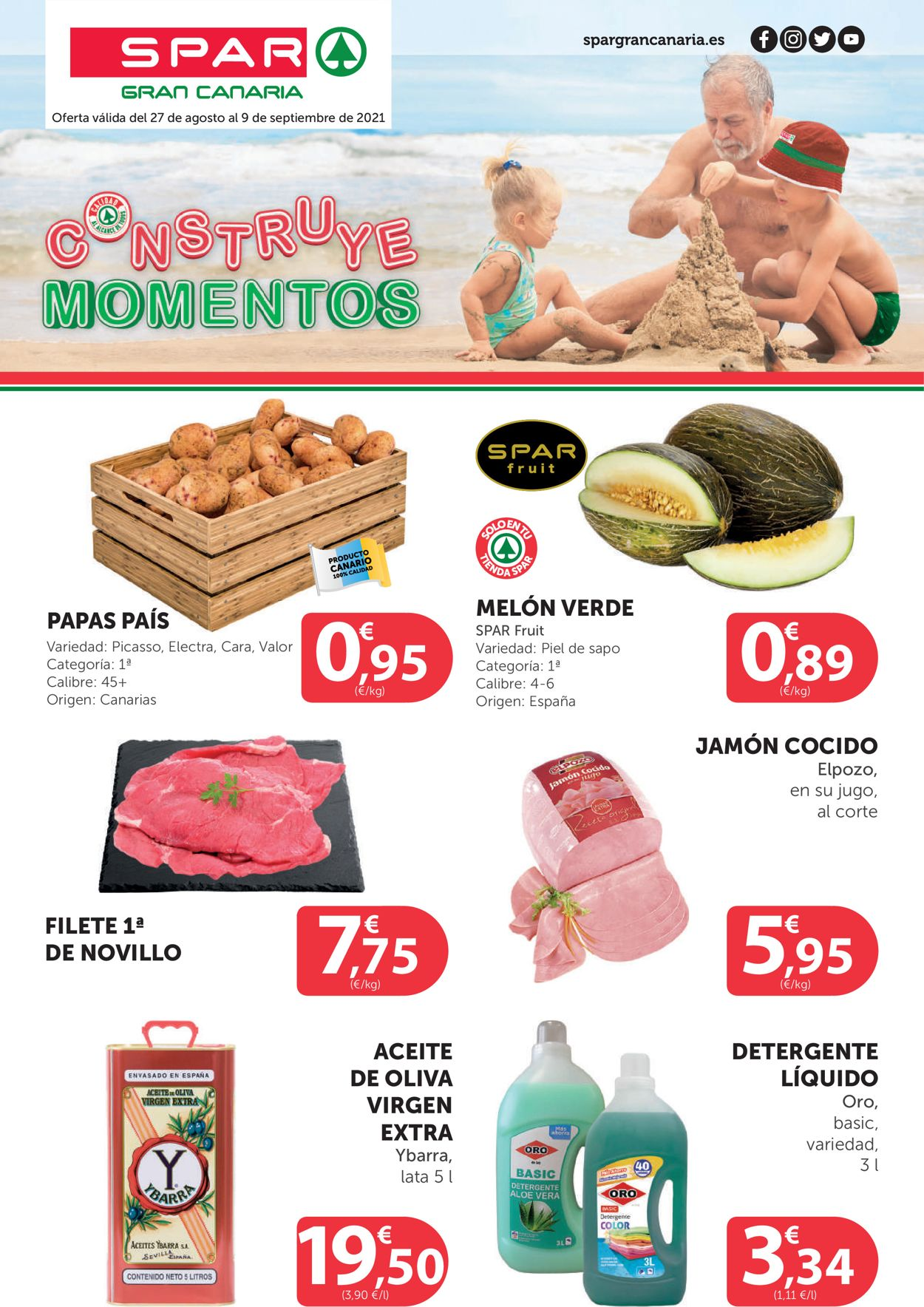 SPAR Folleto - 27.08-09.09.2021