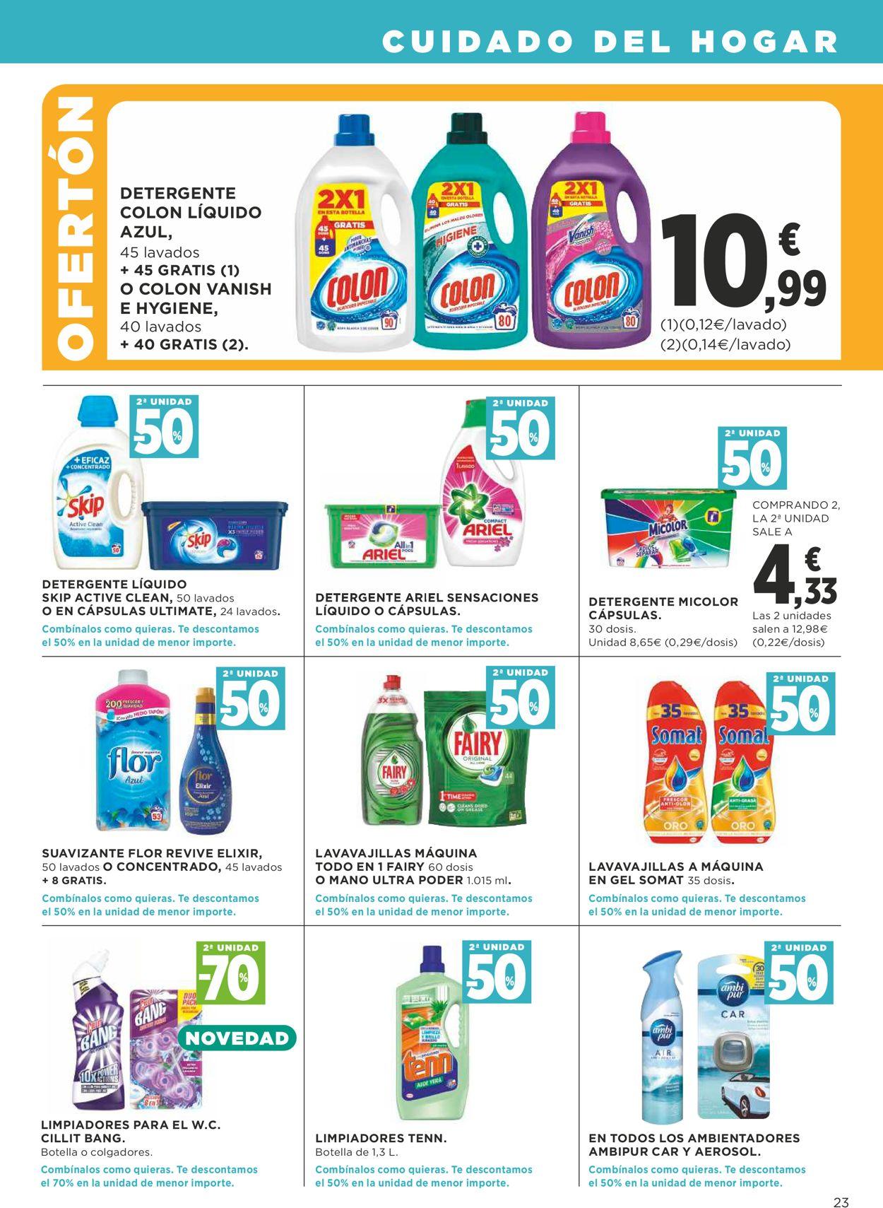 Supercor Folleto - 08.04-22.04.2020 (Página 23)