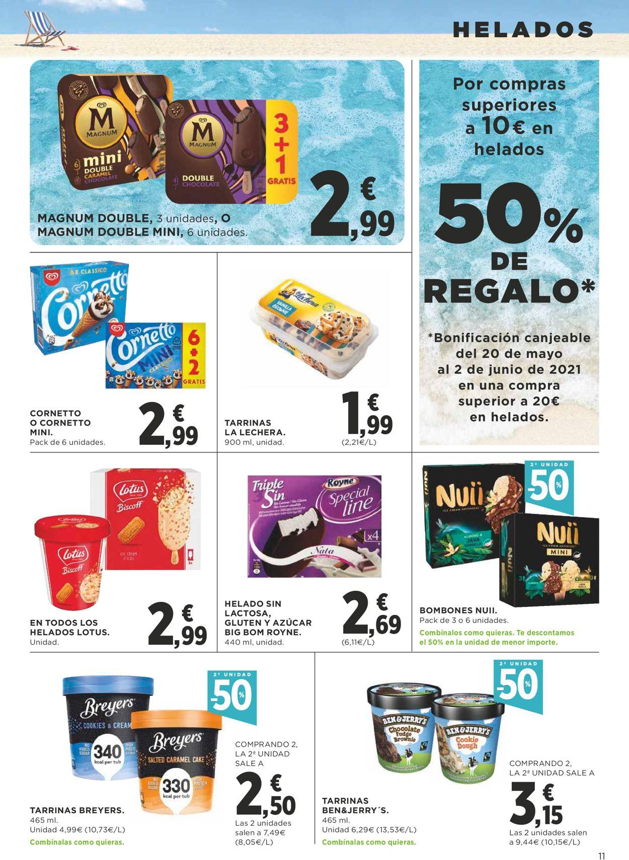 Supercor Folleto - 06.05-19.05.2021 (Página 11)