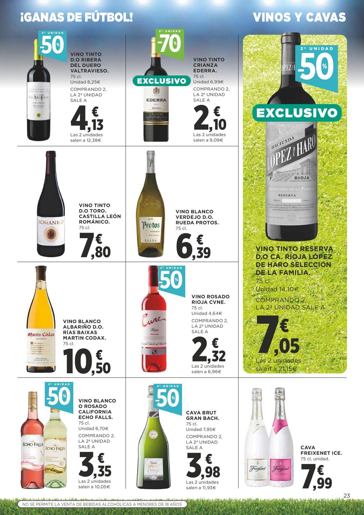 Supercor Folleto - 17.06-30.06.2021 (Página 23)