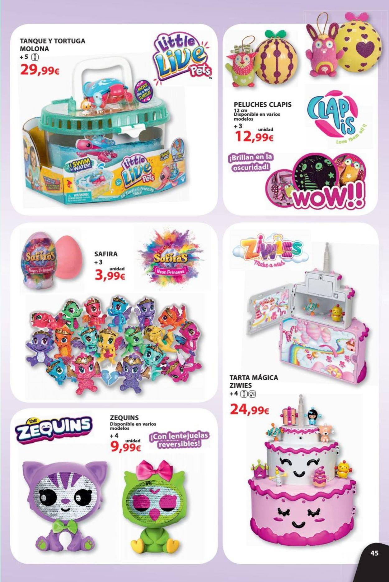 Toy Planet Folleto - 08.06-31.07.2019 (Página 45)