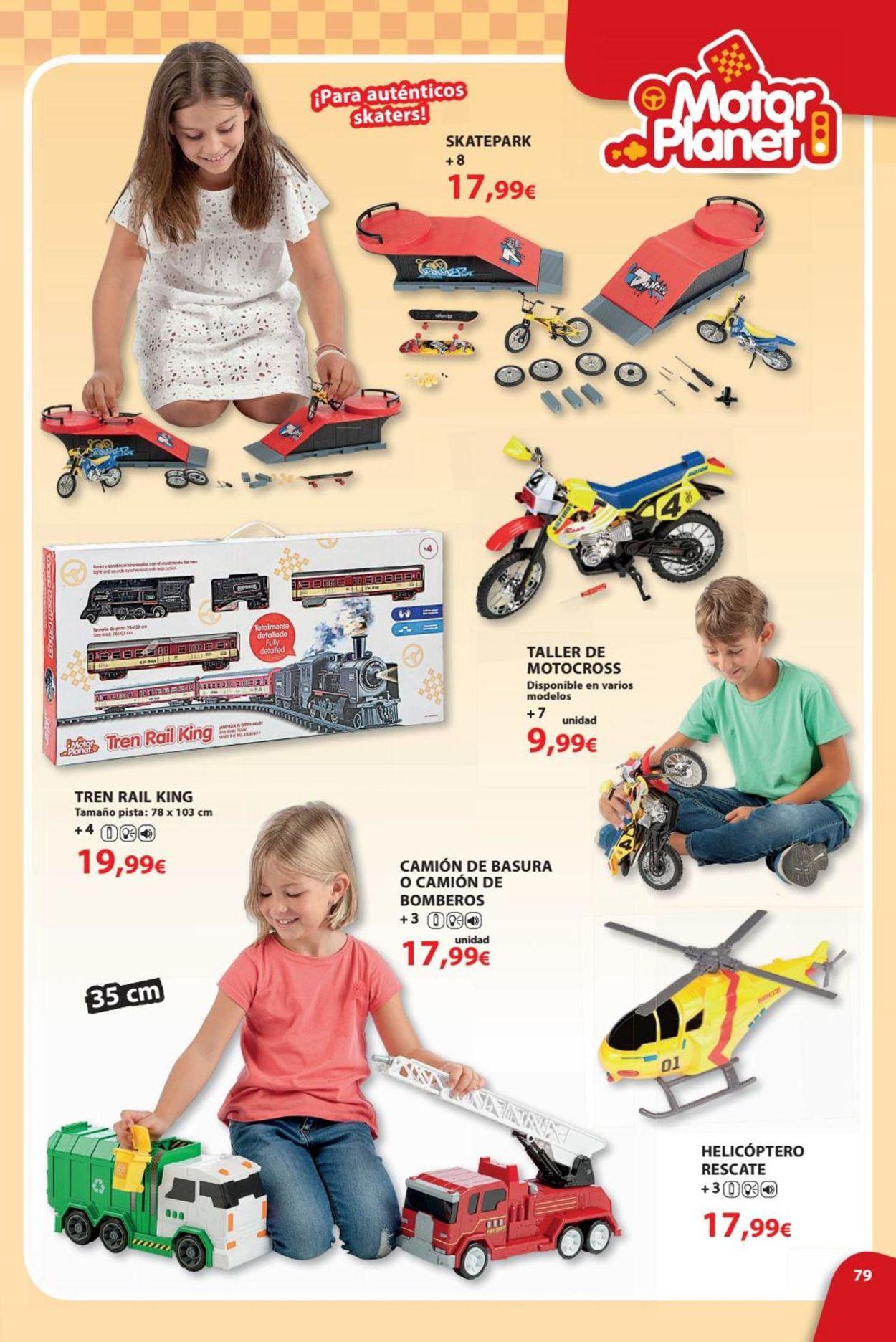 Toy Planet Folleto - 08.06-31.07.2019 (Página 79)