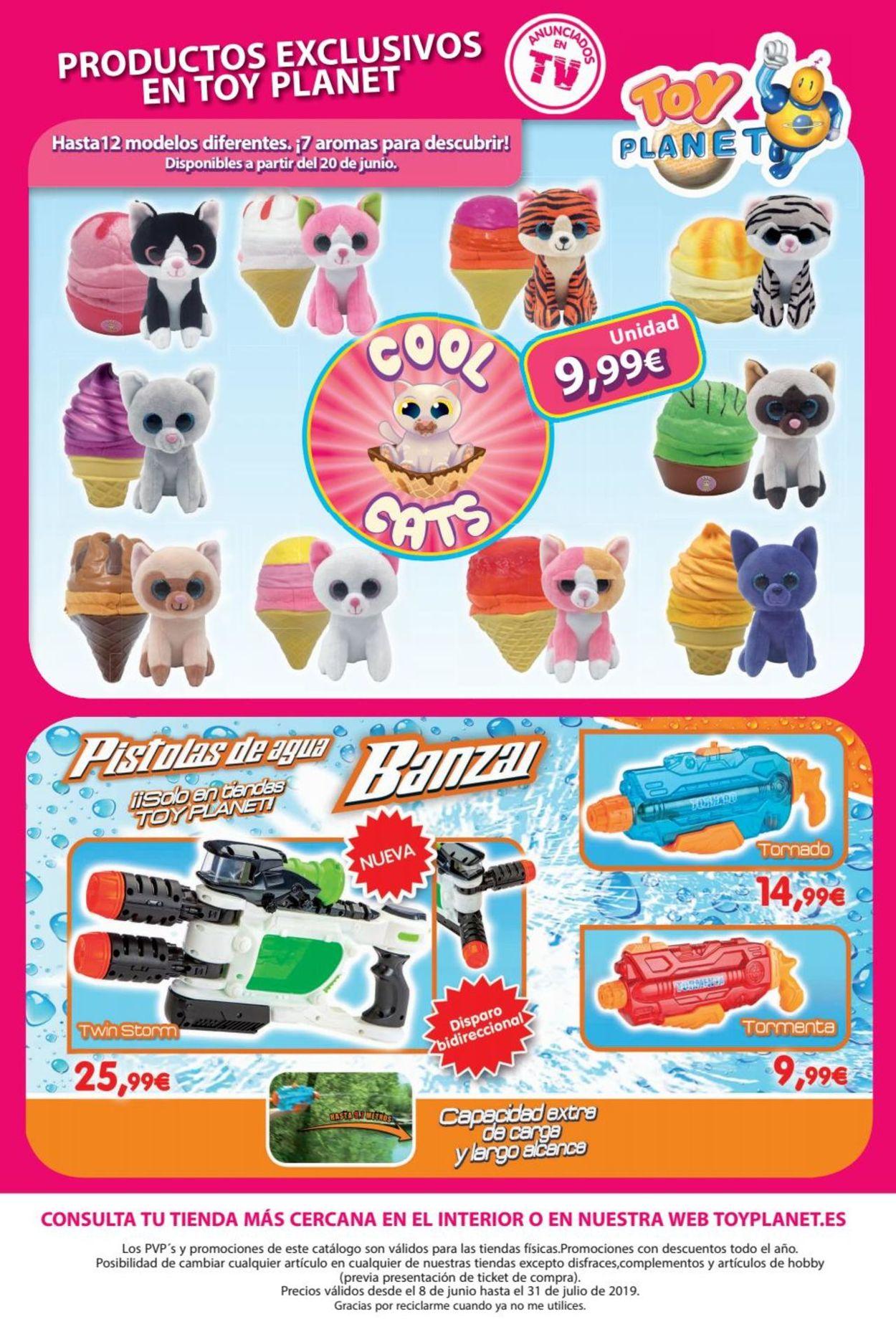 Toy Planet Folleto - 08.06-31.07.2019 (Página 88)