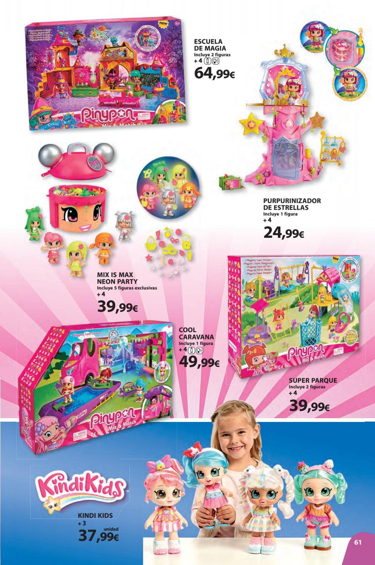 Toy Planet Folleto - 08.11-24.12.2019 (Página 61)