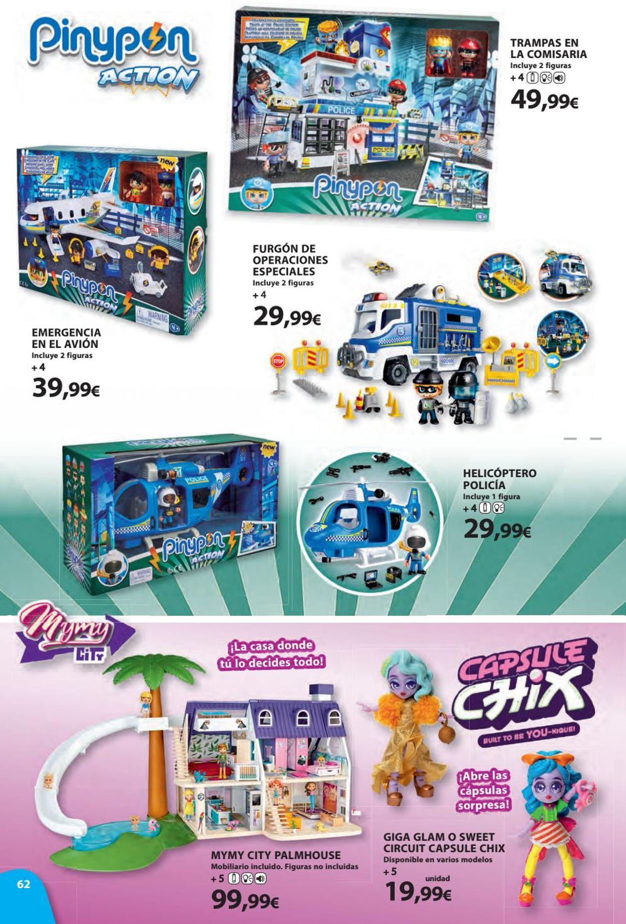 Toy Planet Folleto - 08.11-24.12.2019 (Página 62)