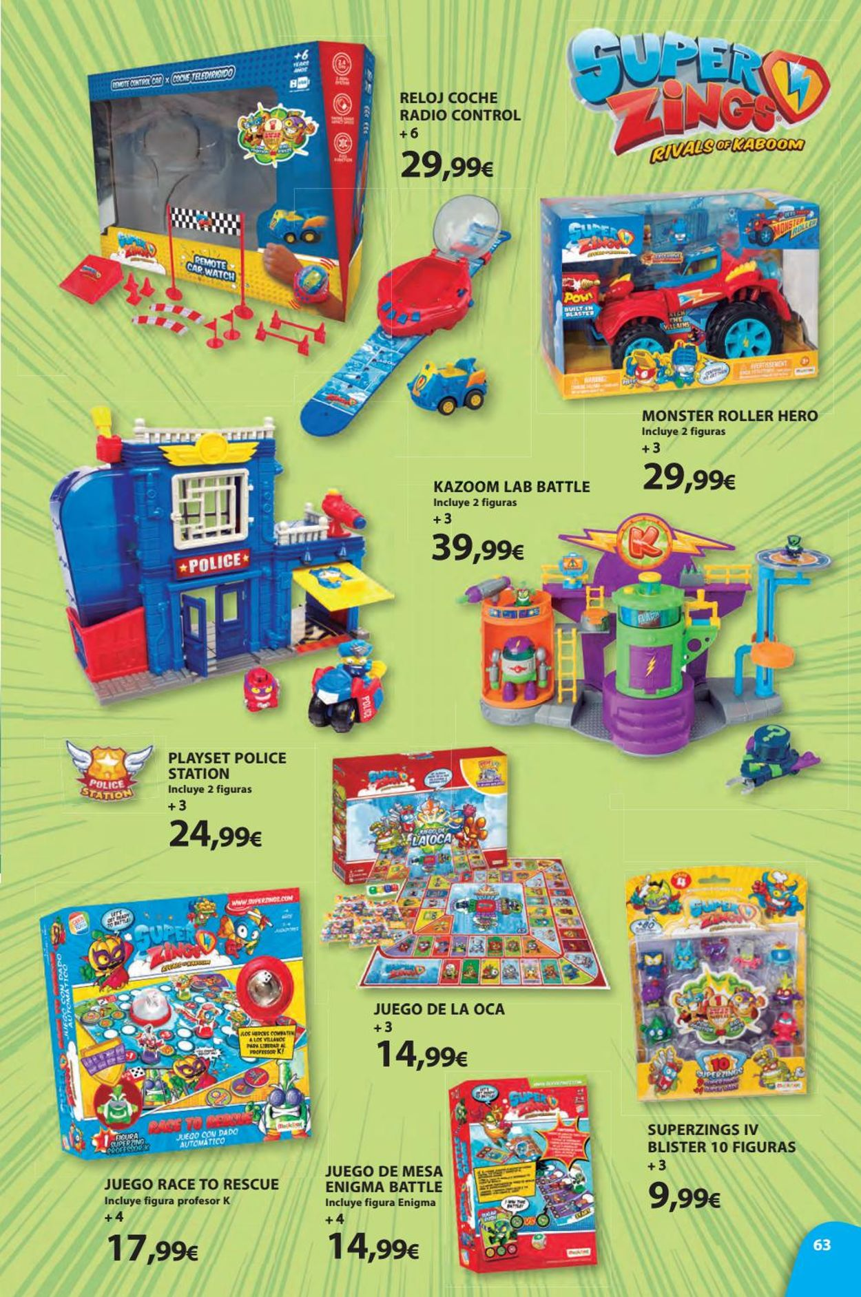Toy Planet Folleto - 08.11-24.12.2019 (Página 63)