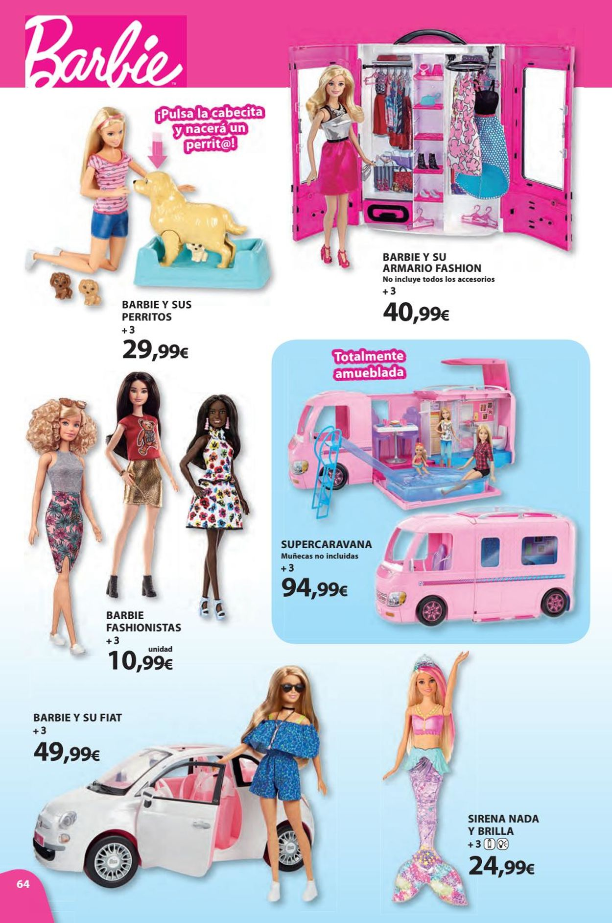 Toy Planet Folleto - 08.11-24.12.2019 (Página 64)
