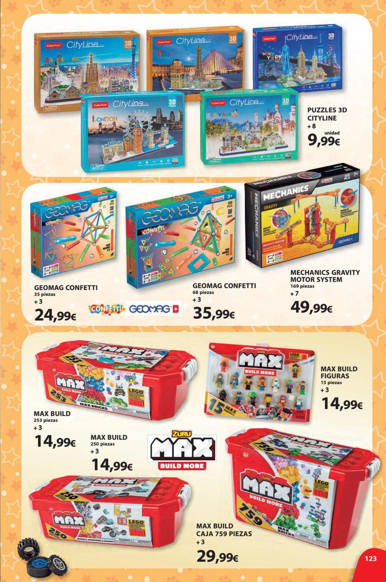 Toy Planet Folleto - 08.11-24.12.2019 (Página 123)