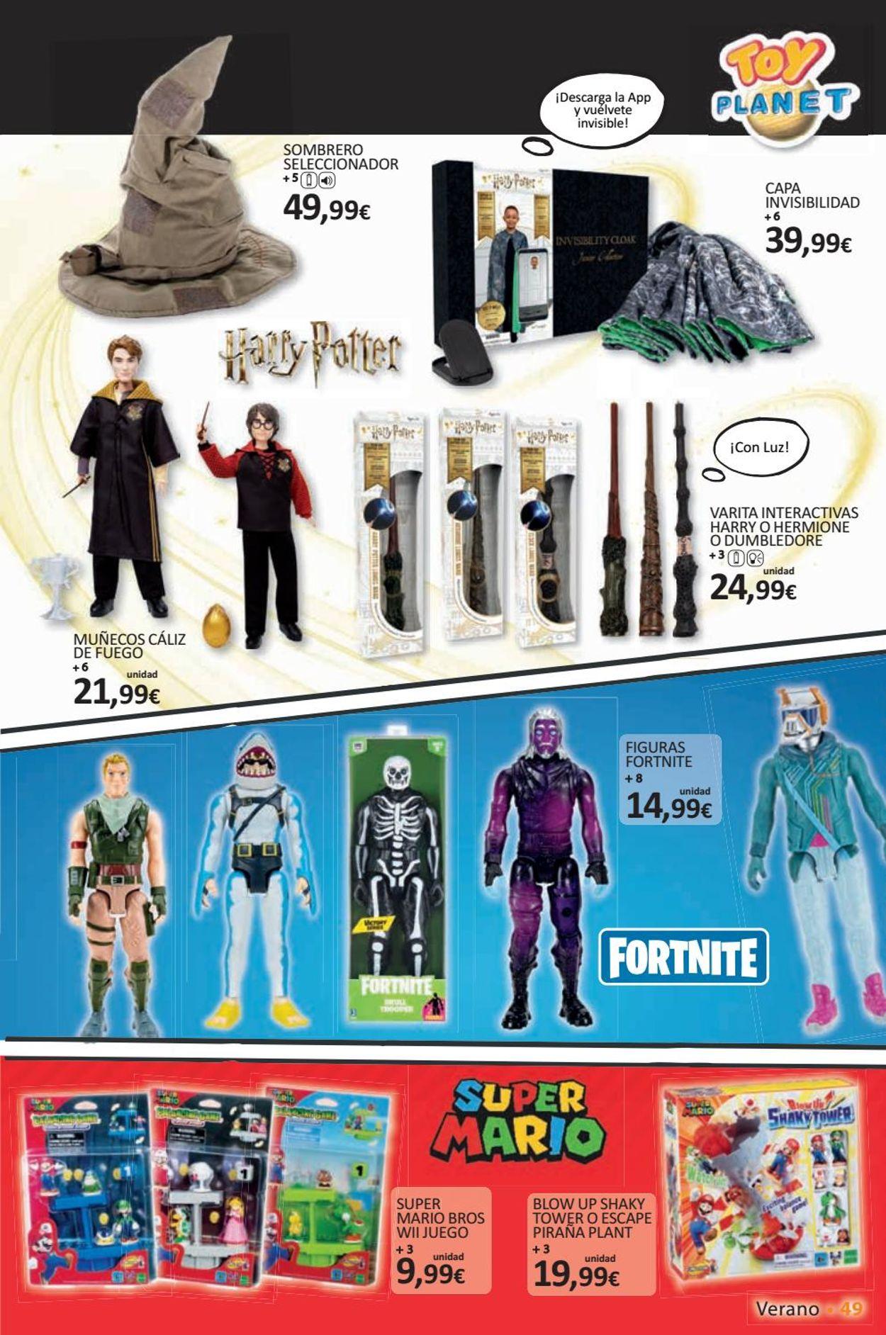 Toy Planet Folleto - 26.06-30.08.2020 (Página 49)