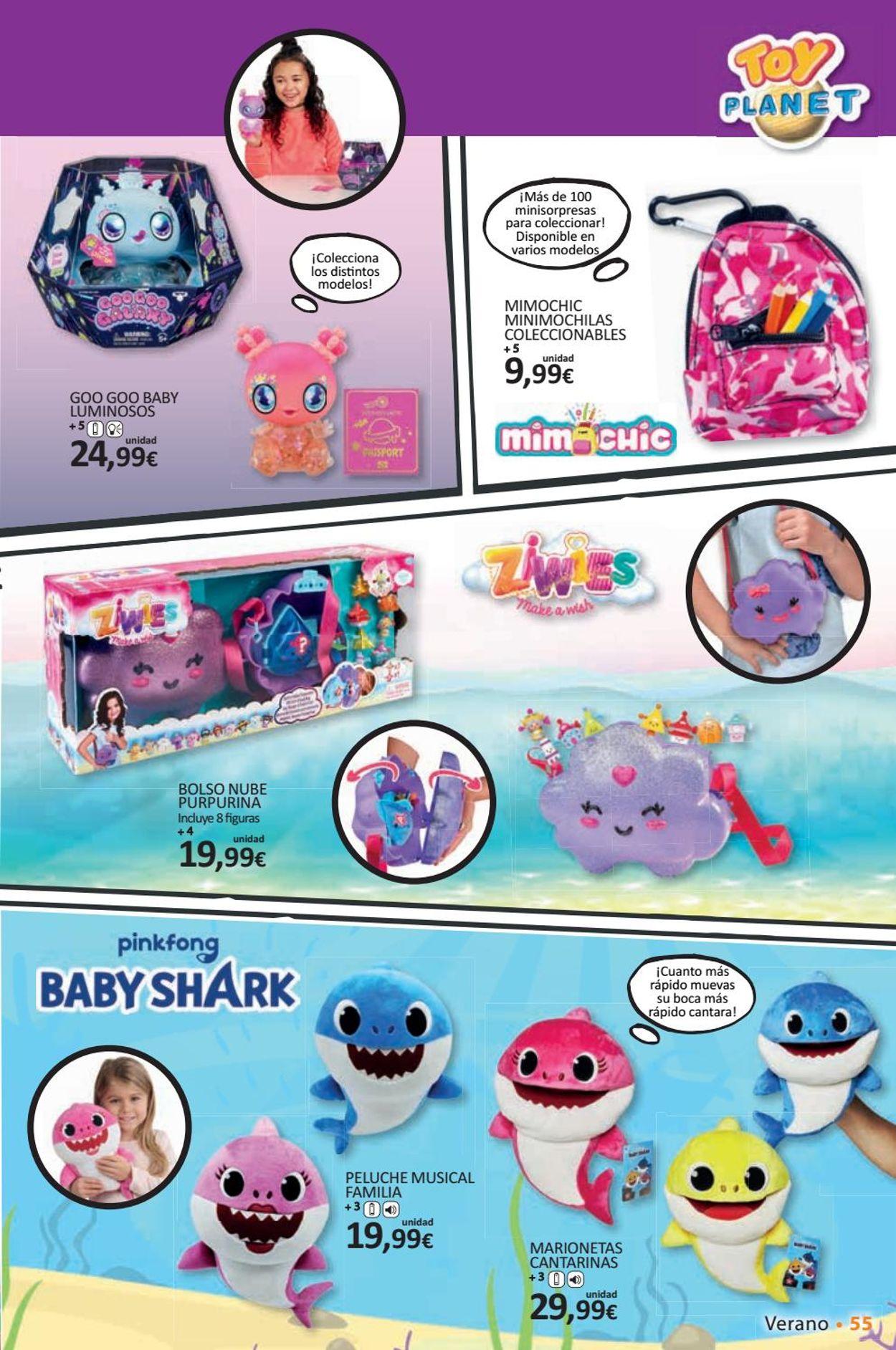 Toy Planet Folleto - 26.06-30.08.2020 (Página 55)