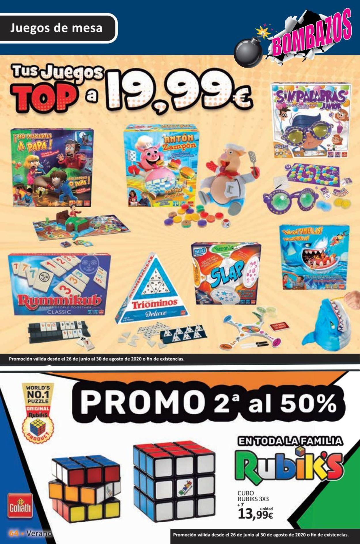 Toy Planet Folleto - 26.06-30.08.2020 (Página 64)