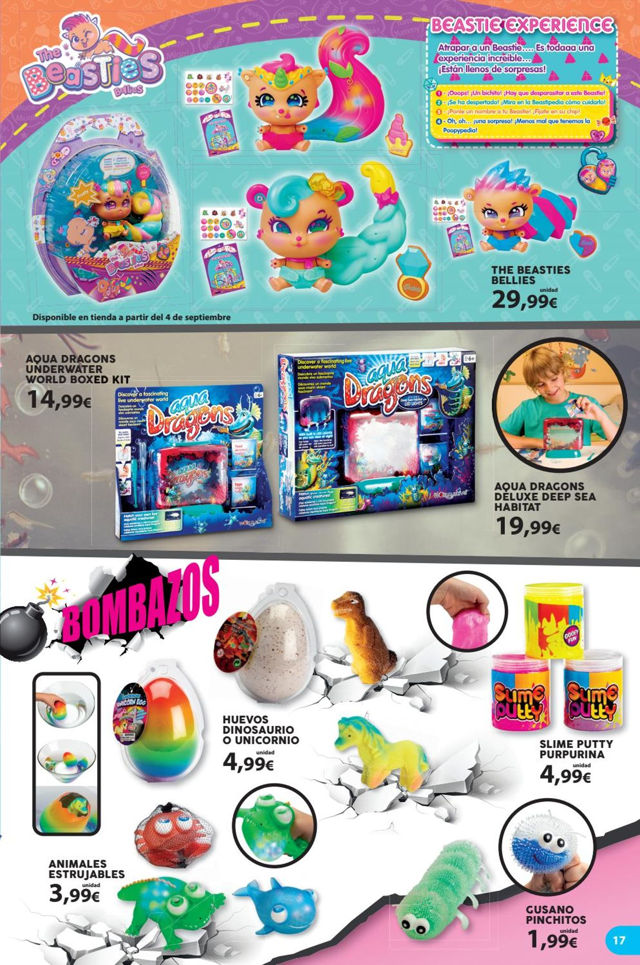 Toy Planet Folleto - 06.08-30.10.2020 (Página 17)