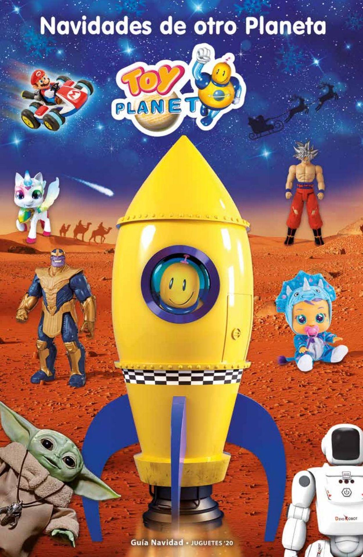 Toy Planet - Navidad Folleto - 16.10-24.12.2020