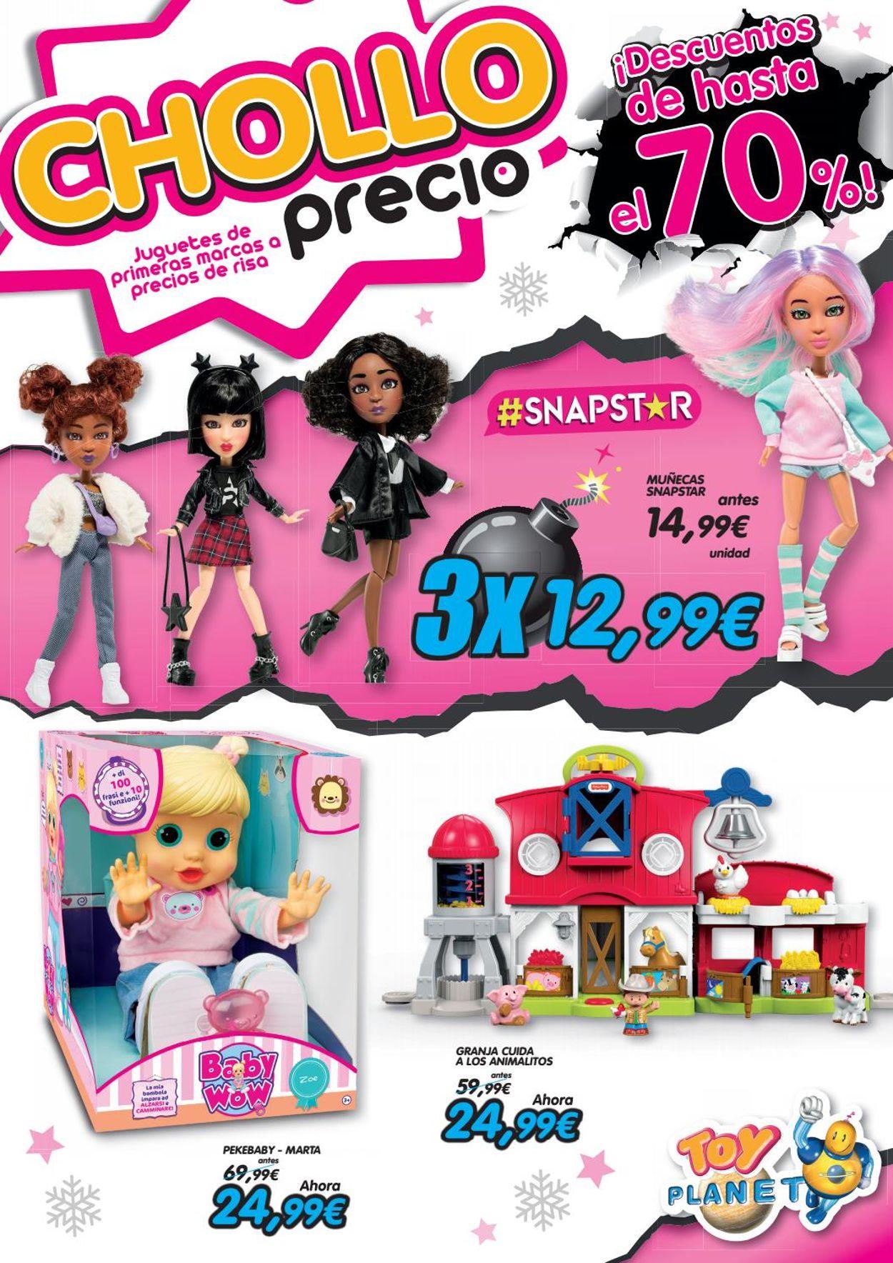 Toy Planet Folleto - 02.11-05.01.2021