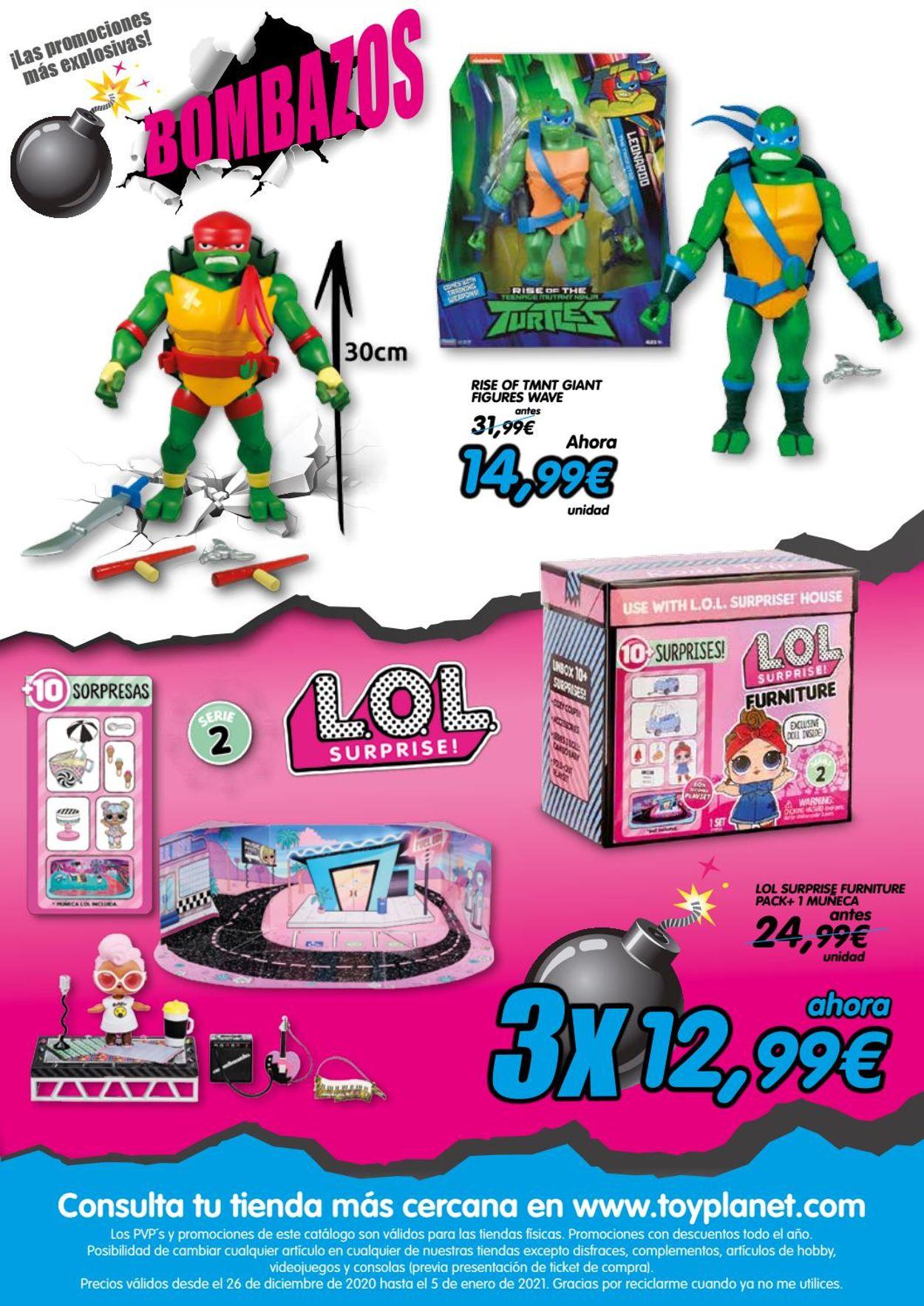 Toy Planet Folleto - 26.12-05.01.2021 (Página 3)