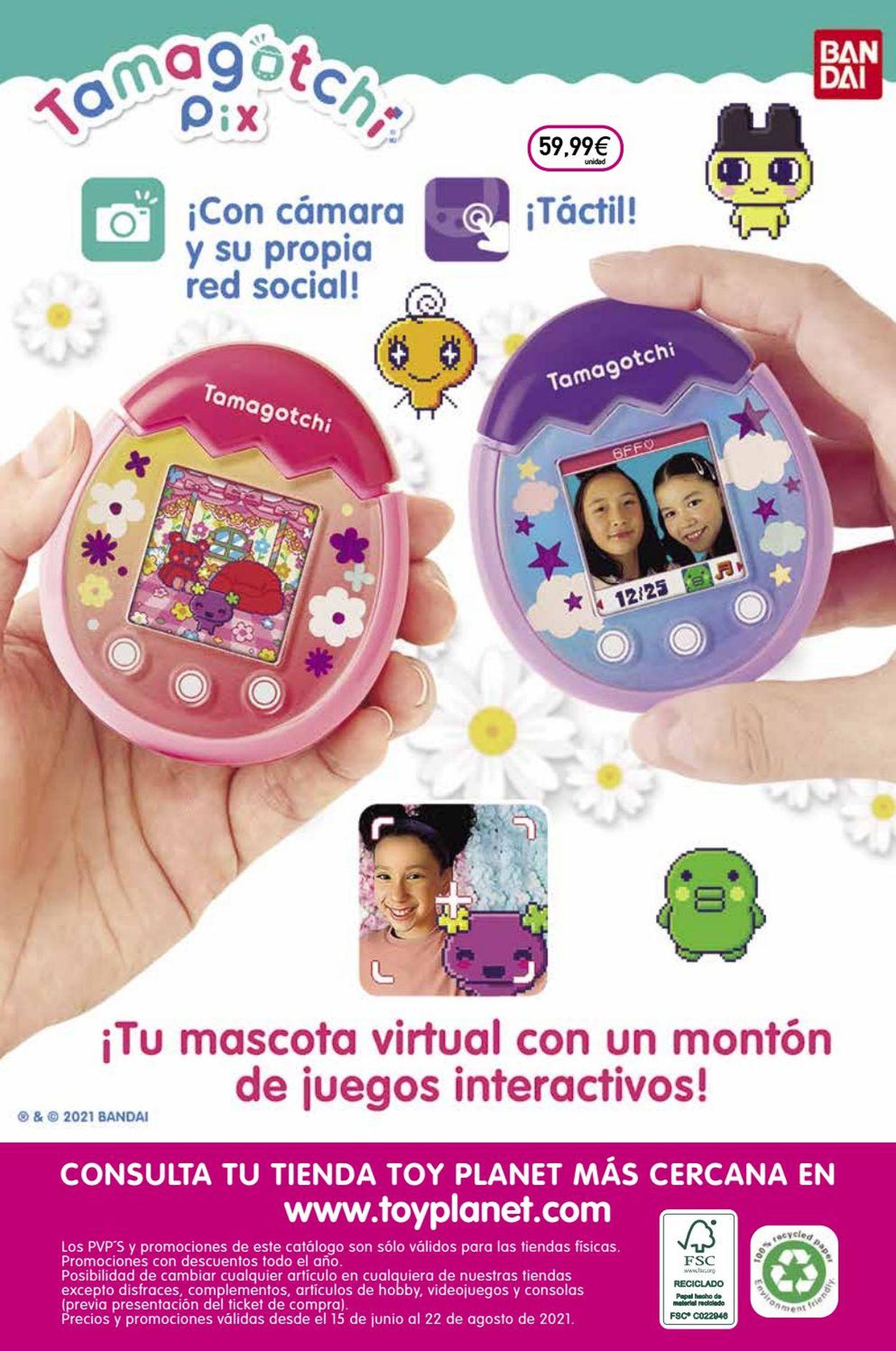 Toy Planet Folleto - 15.06-22.08.2021 (Página 84)