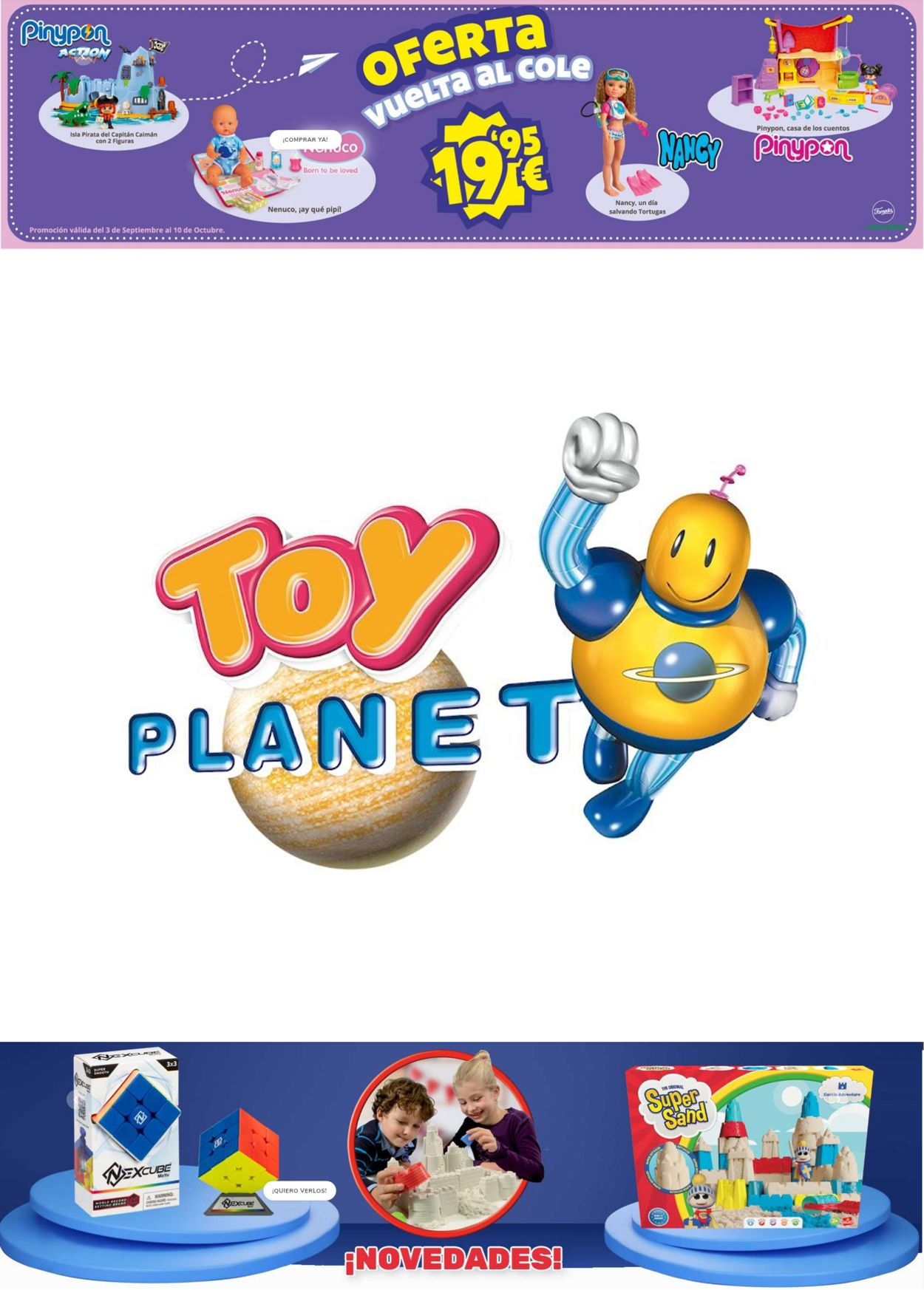 Toy Planet Folleto - 01.10-14.10.2021