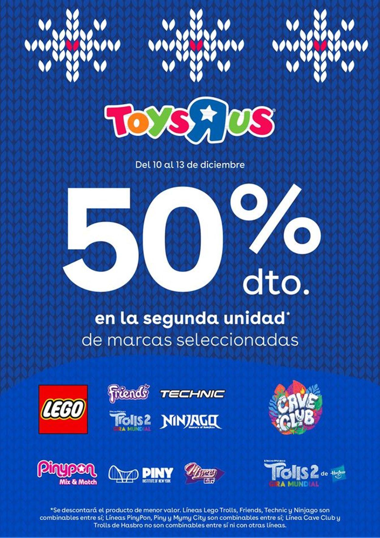 ToysRUs Folleto - 10.12-13.12.2020