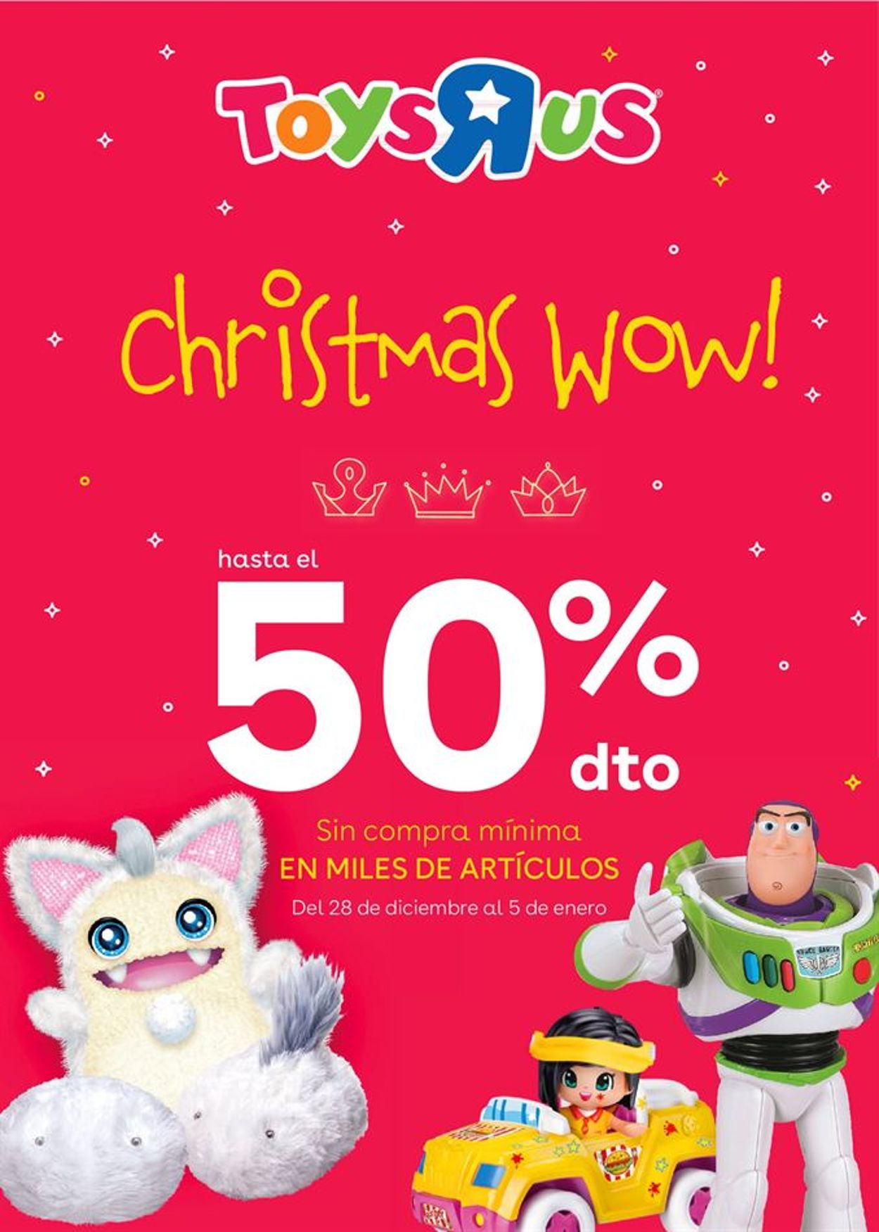 ToysRUs Christmas WOW! Folleto - 28.12-05.01.2021