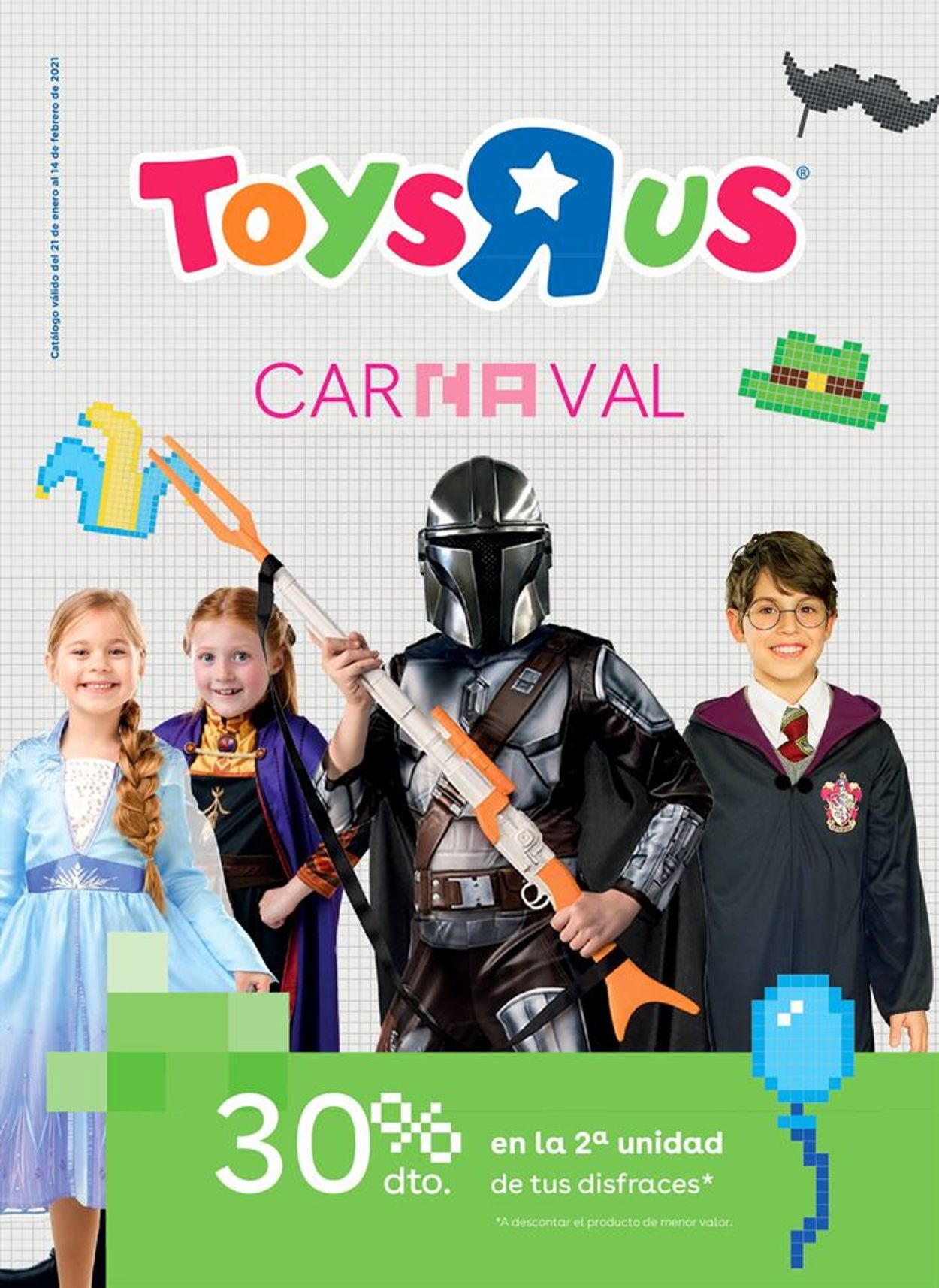 ToysRUs Carnaval 2021 Folleto - 21.01-14.02.2021