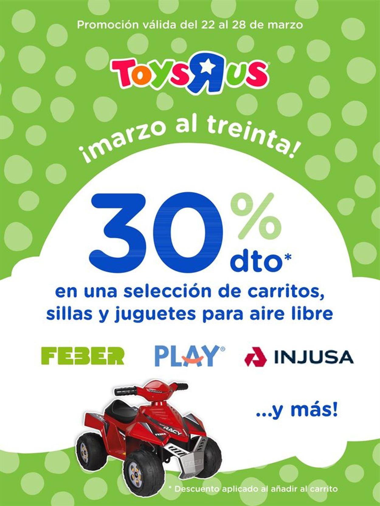 ToysRUs Folleto - 22.03-28.03.2021