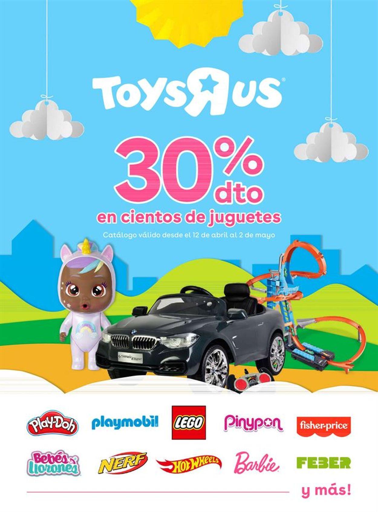ToysRUs Folleto - 12.04-02.05.2021