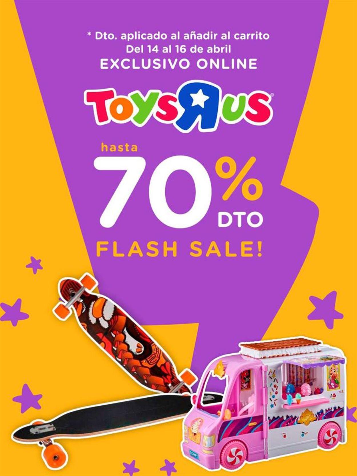 ToysRUs Folleto - 14.04-16.04.2021