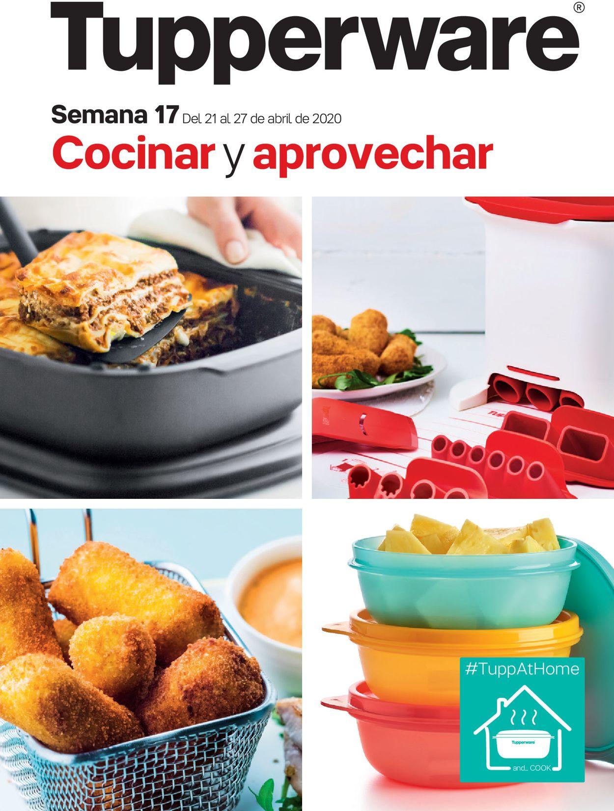 Tupperware Folleto - 21.04-27.04.2020