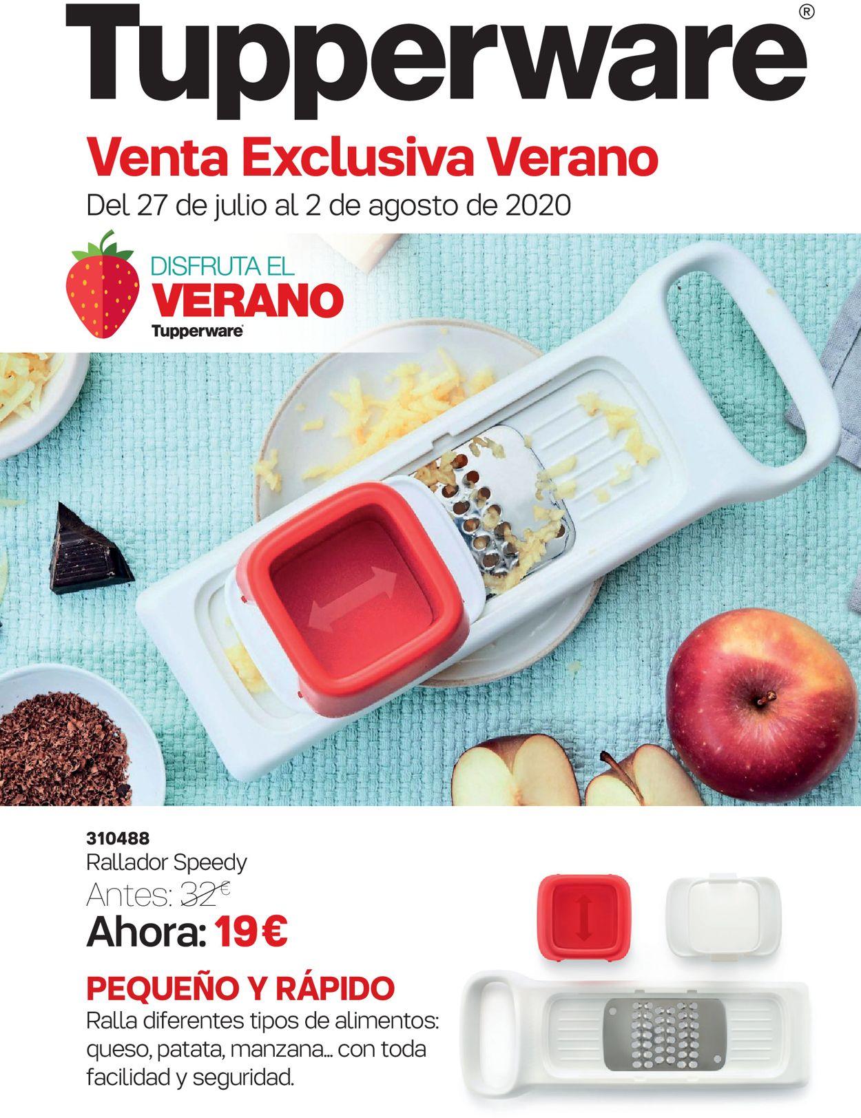 Tupperware Folleto - 27.07-02.08.2020