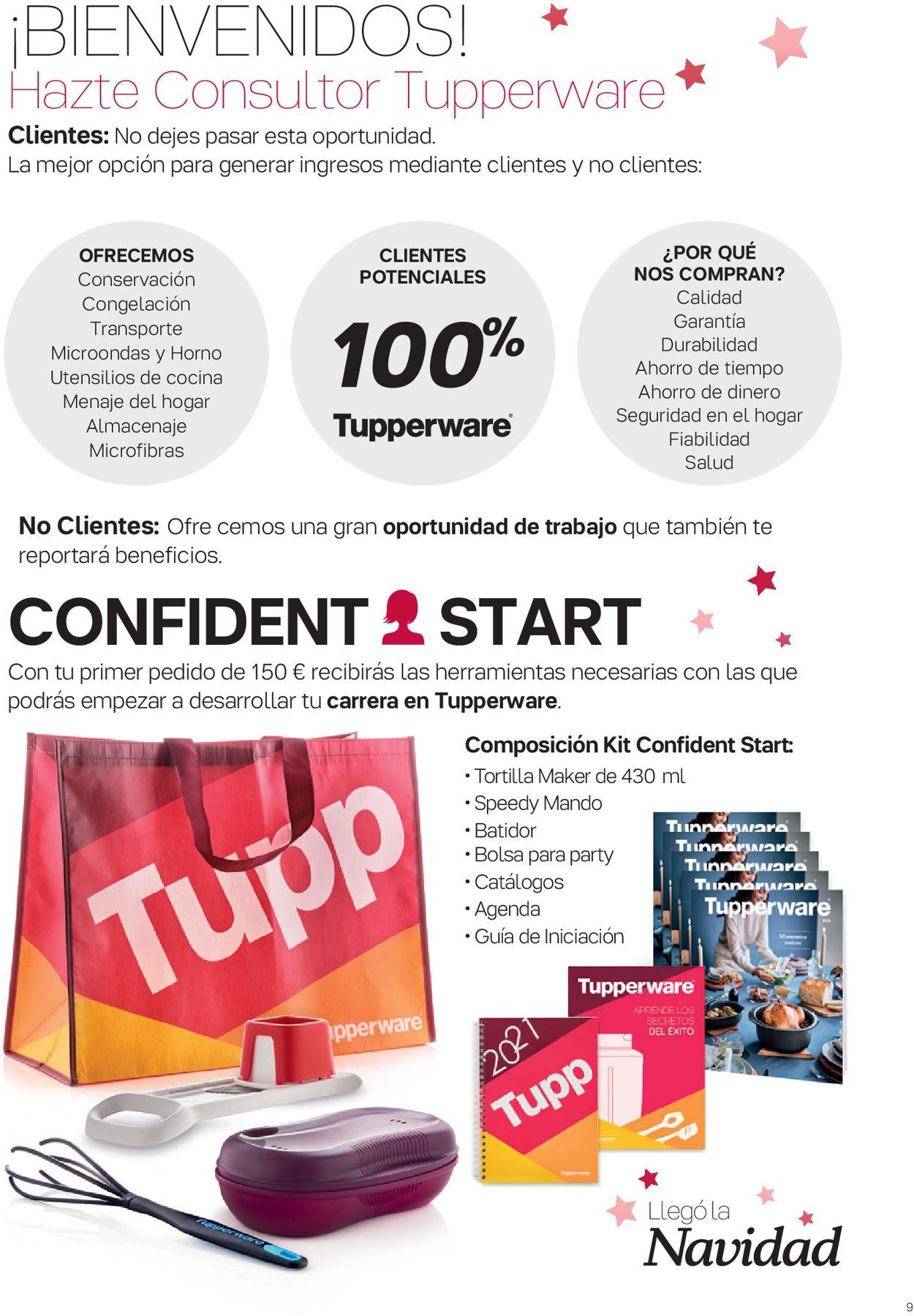 Tupperware Navidad 2020 Folleto - 30.11-27.12.2020 (Página 9)