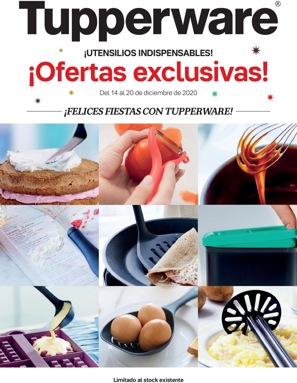 Tupperware Ofertas Exclusivas 2020 Folleto - 14.12-20.12.2020