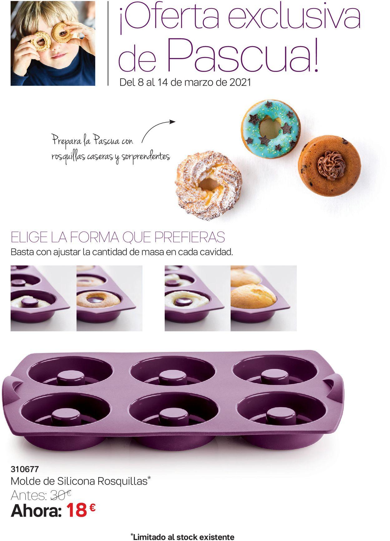 Tupperware Ofertas Exclusivas de Pascua Folleto - 08.03-14.03.2021 (Página 2)