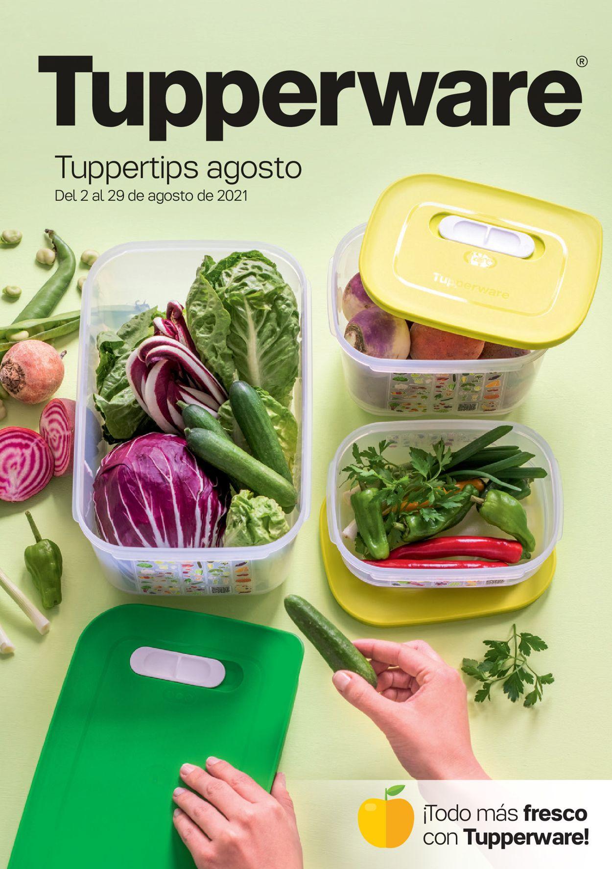 Tupperware Folleto - 02.08-29.08.2021